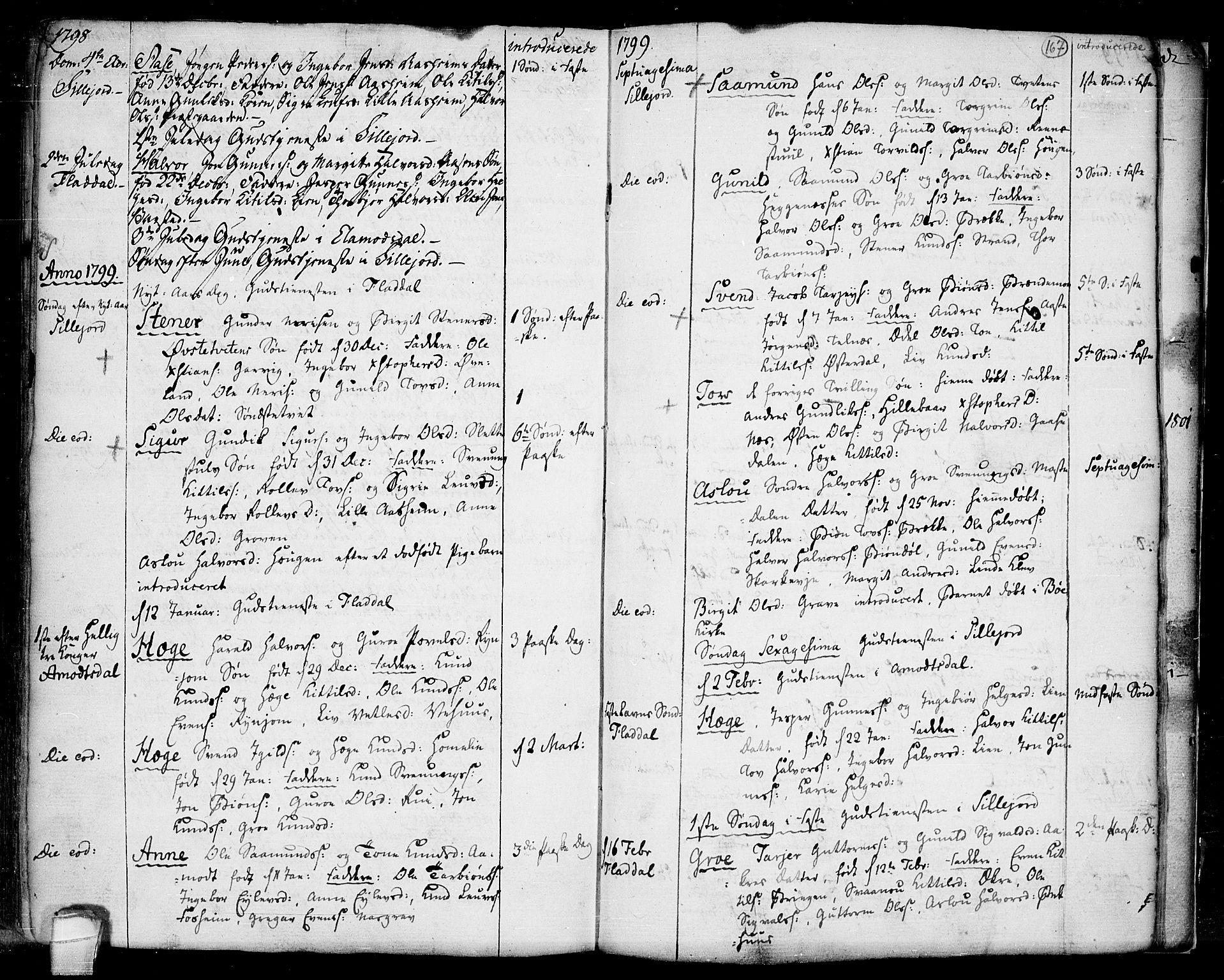 SAKO, Seljord kirkebøker, F/Fa/L0007: Ministerialbok nr. I 7, 1755-1800, s. 167