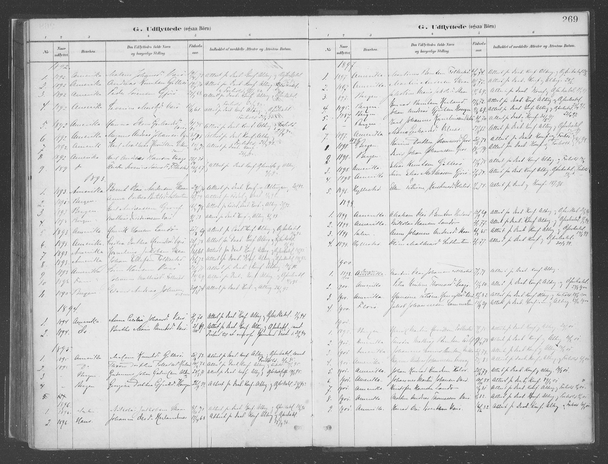 SAB, Askvoll Sokneprestembete, Ministerialbok nr. C  1, 1879-1922, s. 269