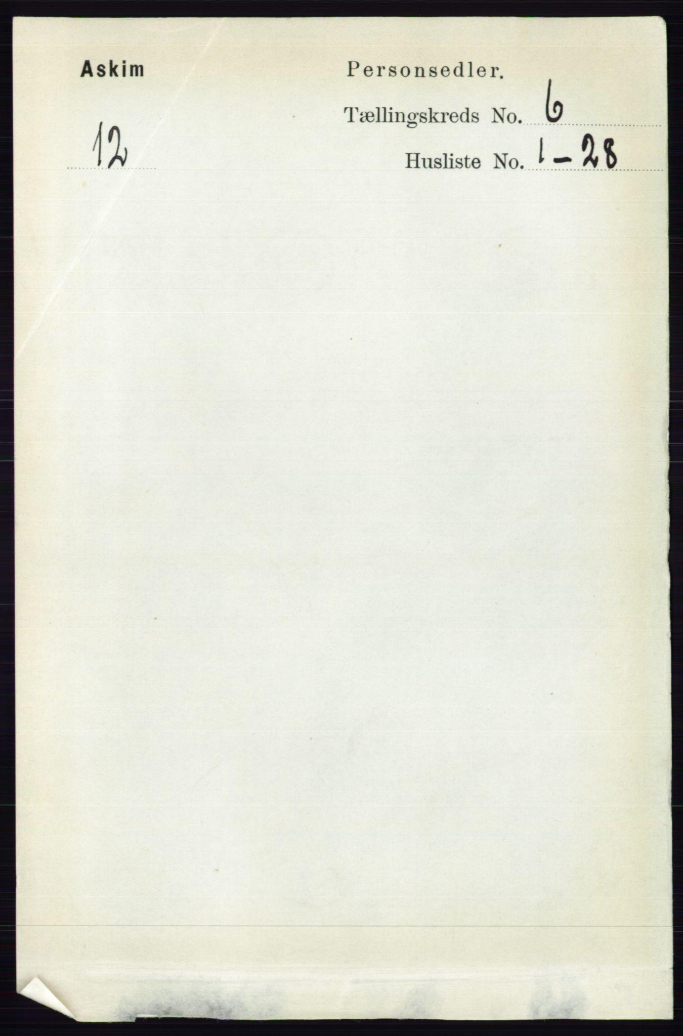 RA, Folketelling 1891 for 0124 Askim herred, 1891, s. 776