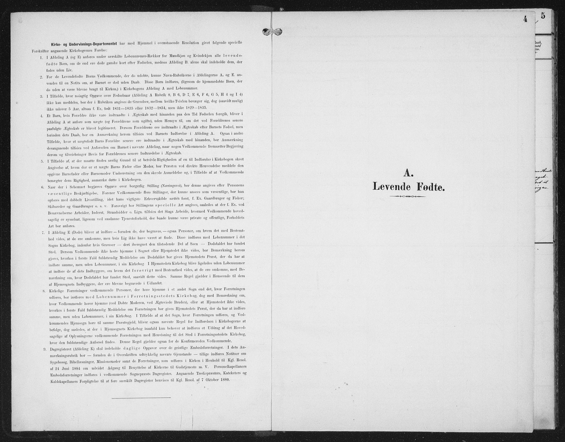 SAT, Ministerialprotokoller, klokkerbøker og fødselsregistre - Nord-Trøndelag, 702/L0024: Ministerialbok nr. 702A02, 1898-1914, s. 4