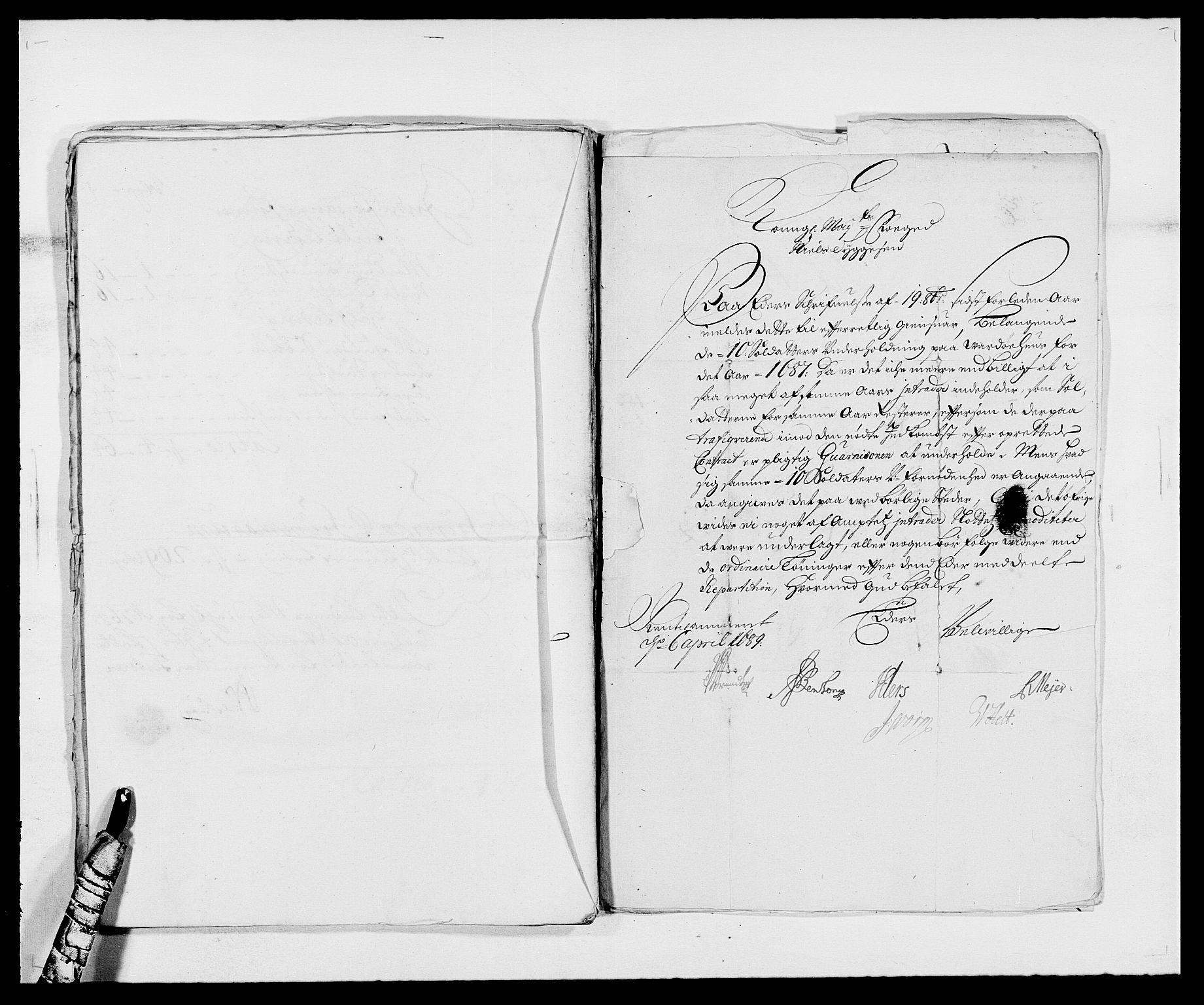 RA, Rentekammeret inntil 1814, Reviderte regnskaper, Fogderegnskap, R69/L4850: Fogderegnskap Finnmark/Vardøhus, 1680-1690, s. 190