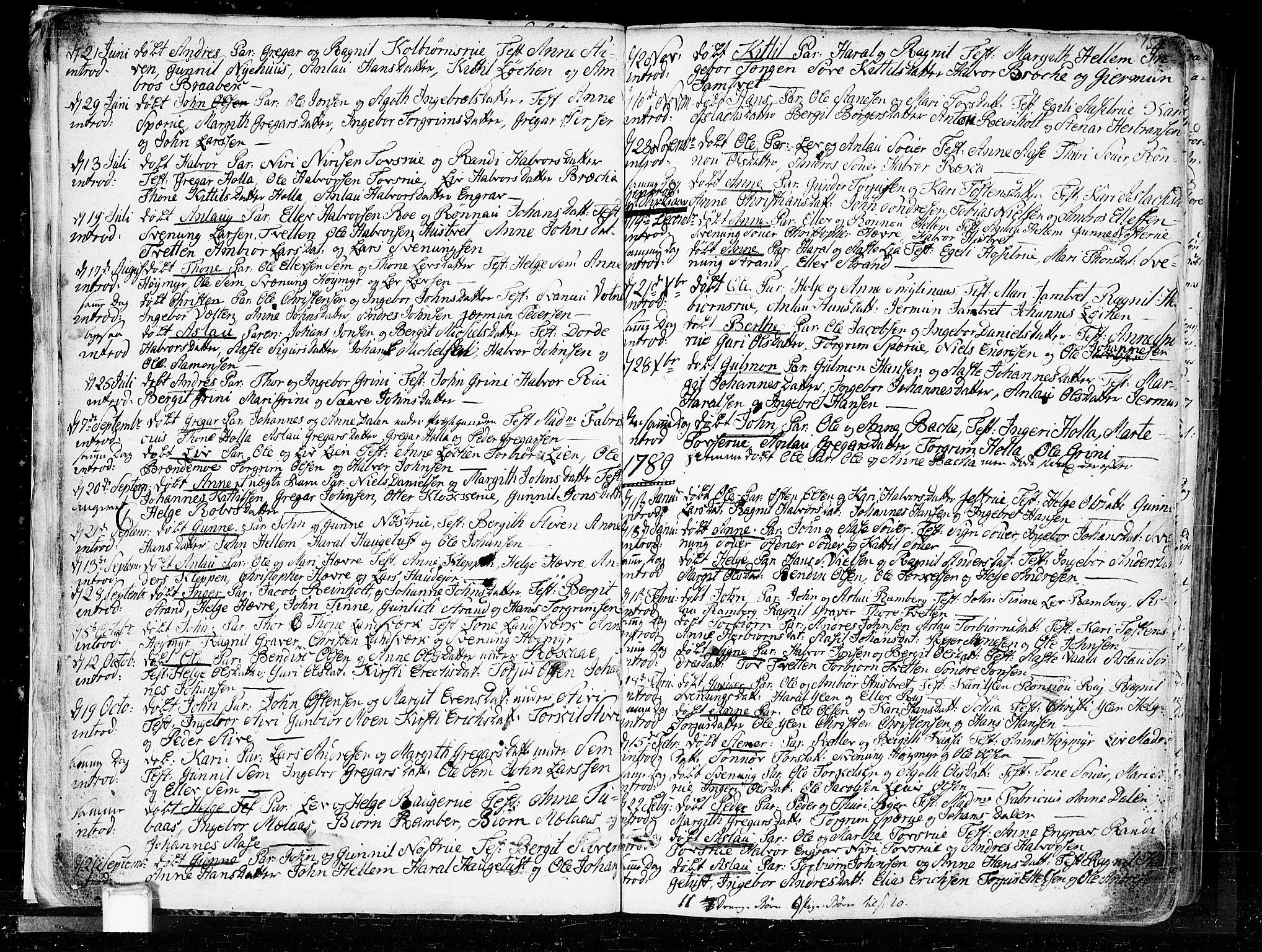 SAKO, Heddal kirkebøker, F/Fa/L0004: Ministerialbok nr. I 4, 1784-1814, s. 15