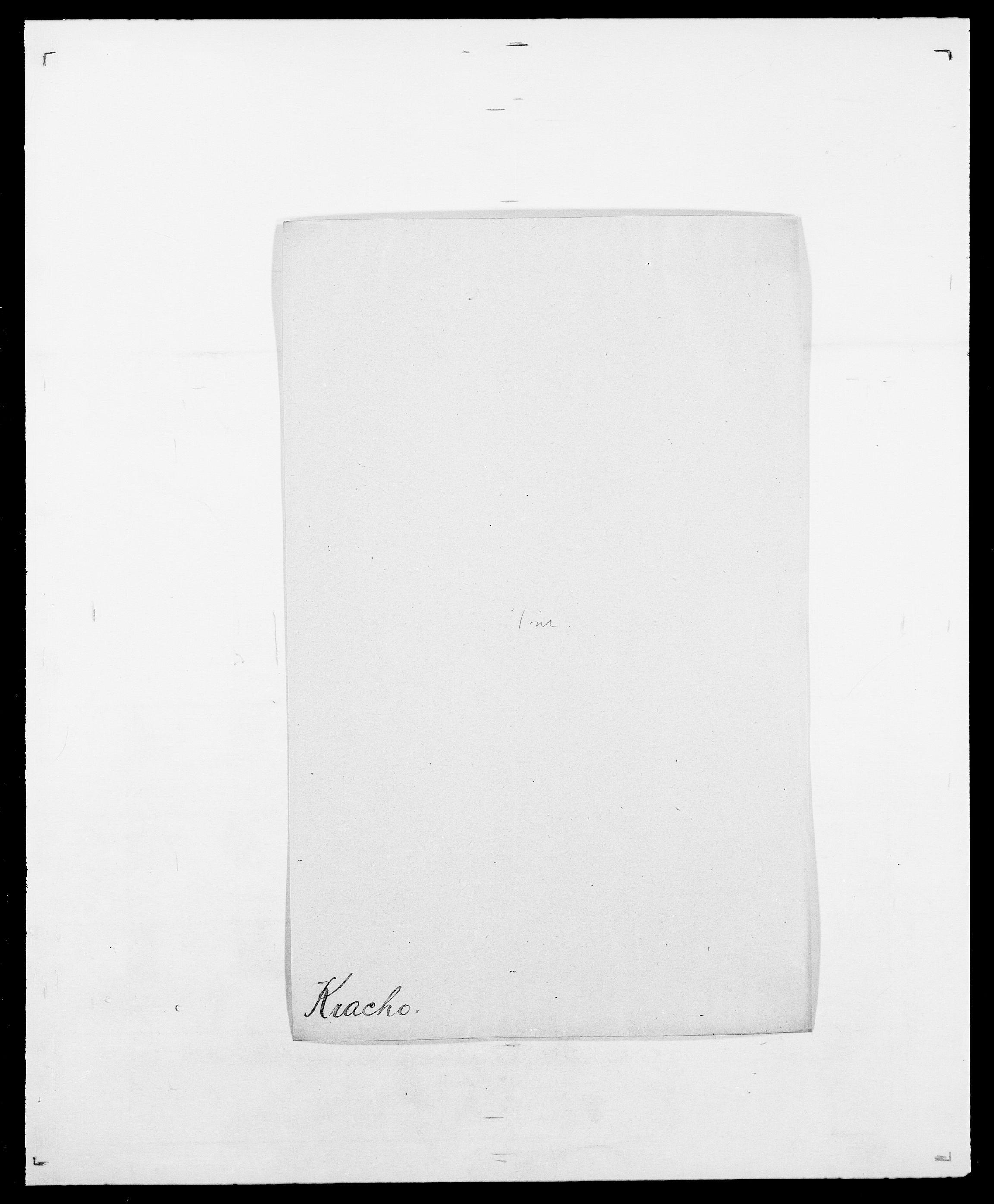 SAO, Delgobe, Charles Antoine - samling, D/Da/L0021: Klagenberg - Kristoft, s. 623