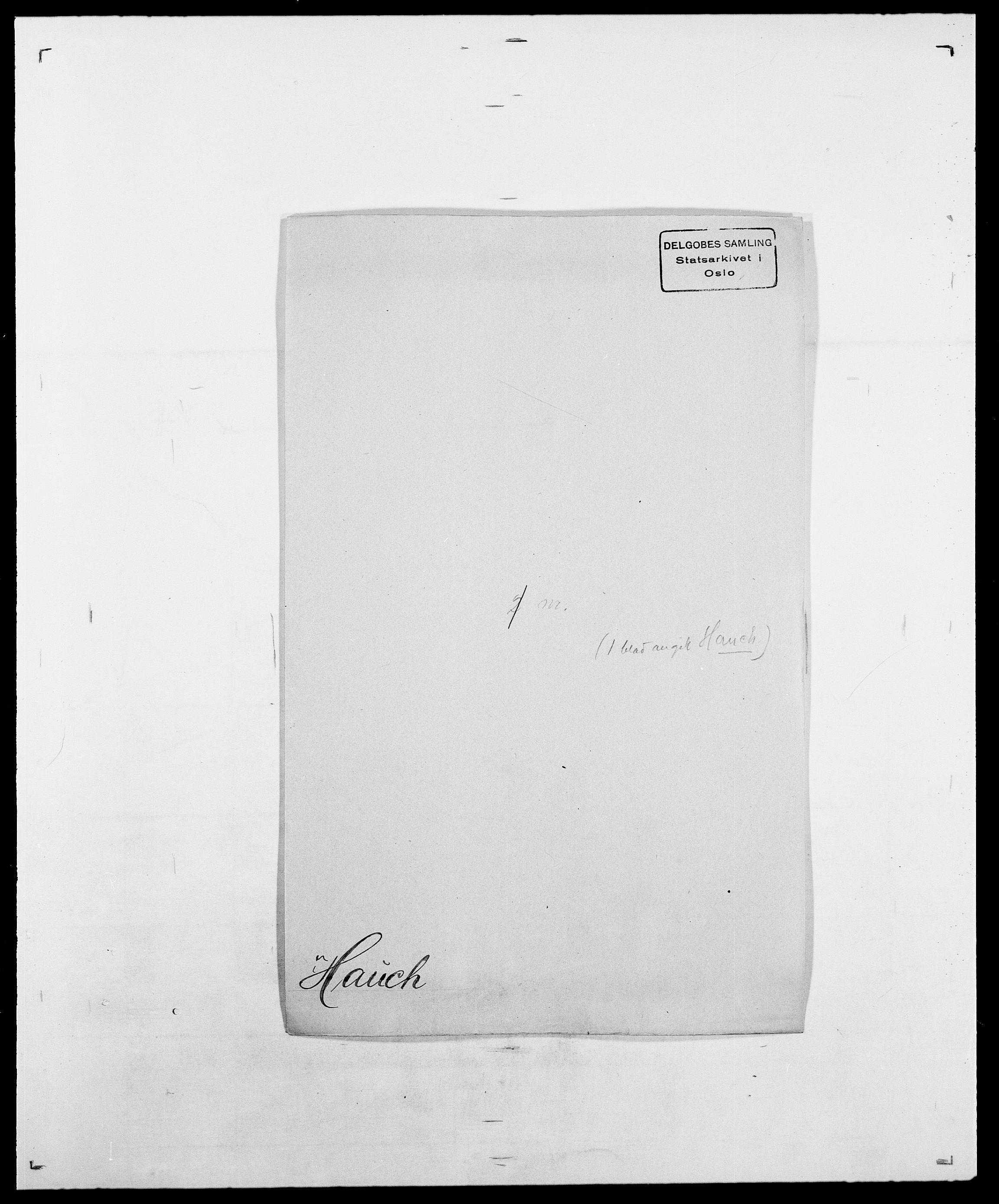 SAO, Delgobe, Charles Antoine - samling, D/Da/L0016: Hamborg - Hektoen, s. 576