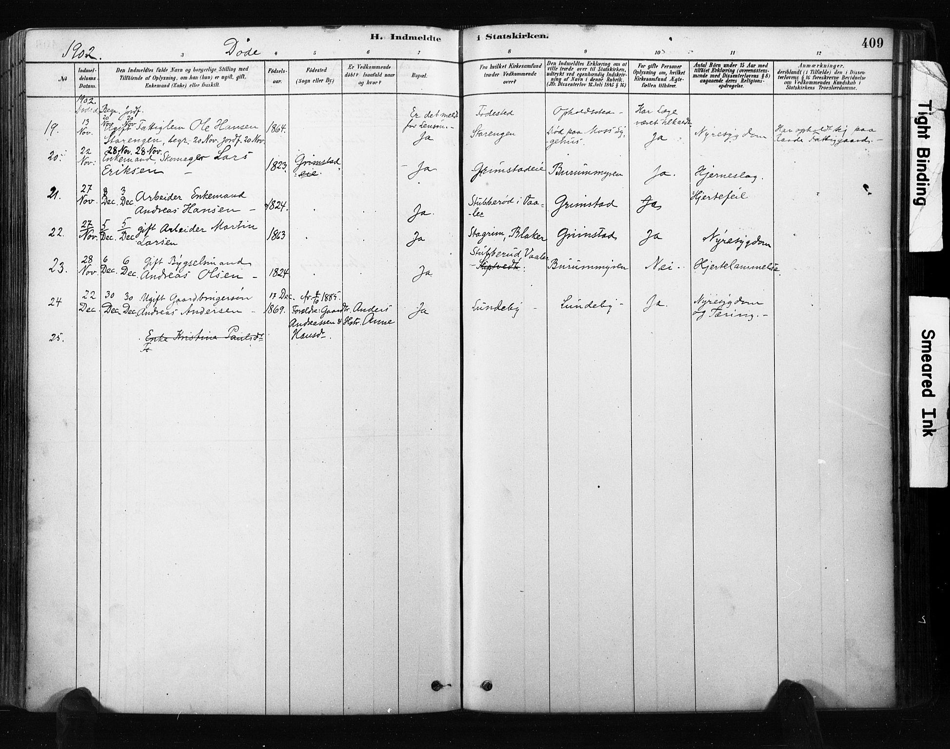 SAO, Råde prestekontor kirkebøker, F/Fa/L0007: Ministerialbok nr. 7, 1878-1902, s. 409