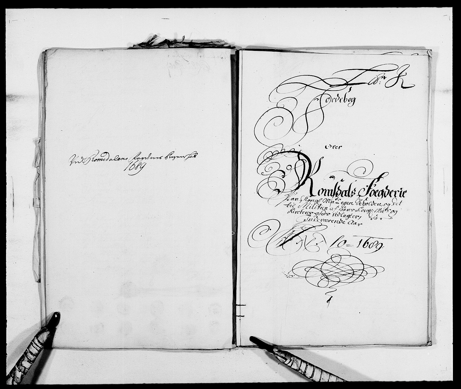 RA, Rentekammeret inntil 1814, Reviderte regnskaper, Fogderegnskap, R55/L3648: Fogderegnskap Romsdal, 1687-1689, s. 372