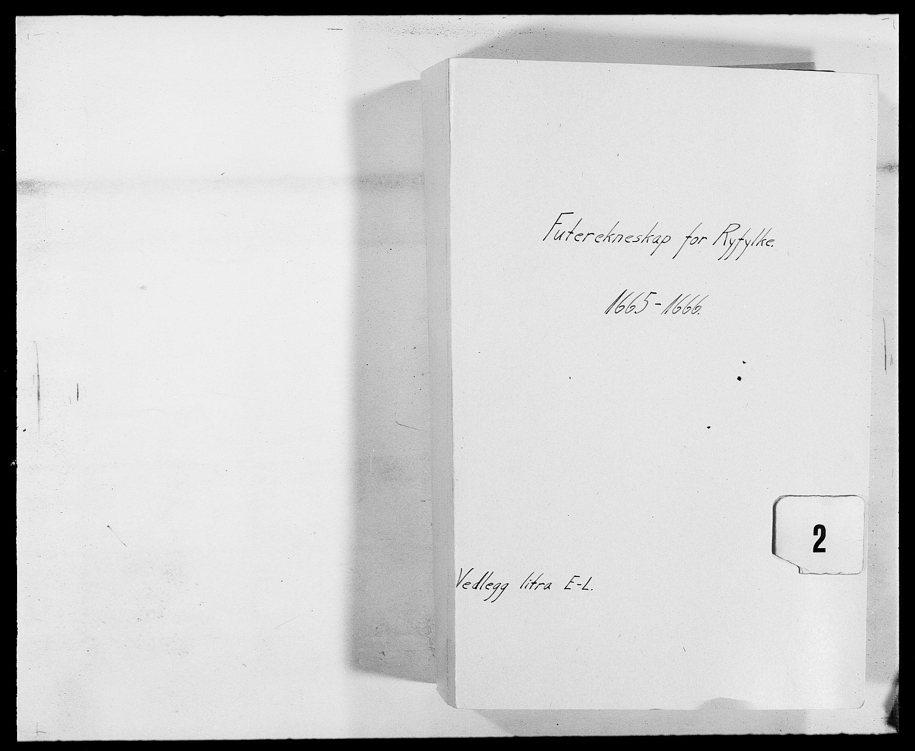 RA, Rentekammeret inntil 1814, Reviderte regnskaper, Fogderegnskap, R47/L2840: Fogderegnskap Ryfylke, 1665-1669, s. 1