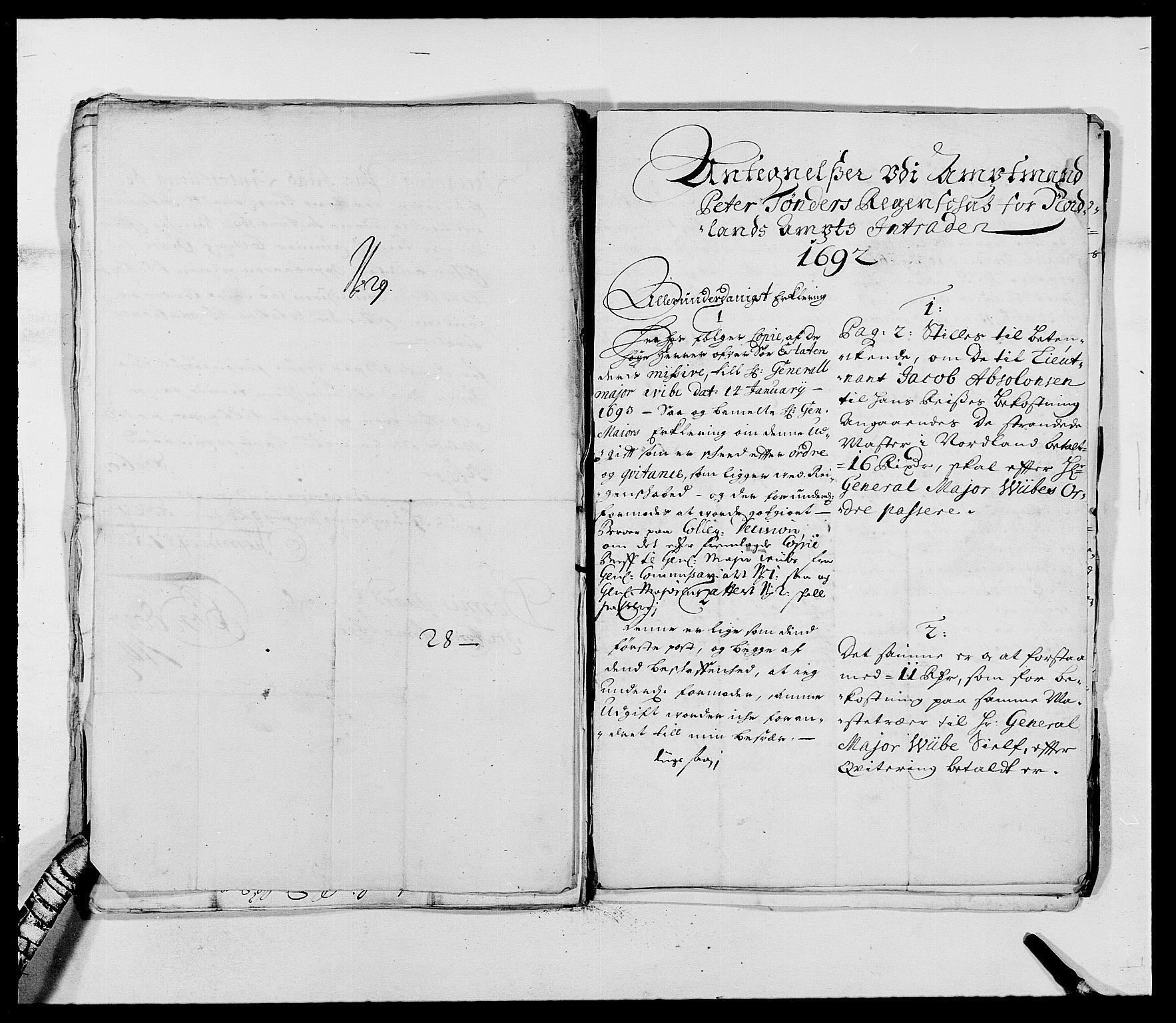 RA, Rentekammeret inntil 1814, Reviderte regnskaper, Fogderegnskap, R68/L4751: Fogderegnskap Senja og Troms, 1690-1693, s. 263