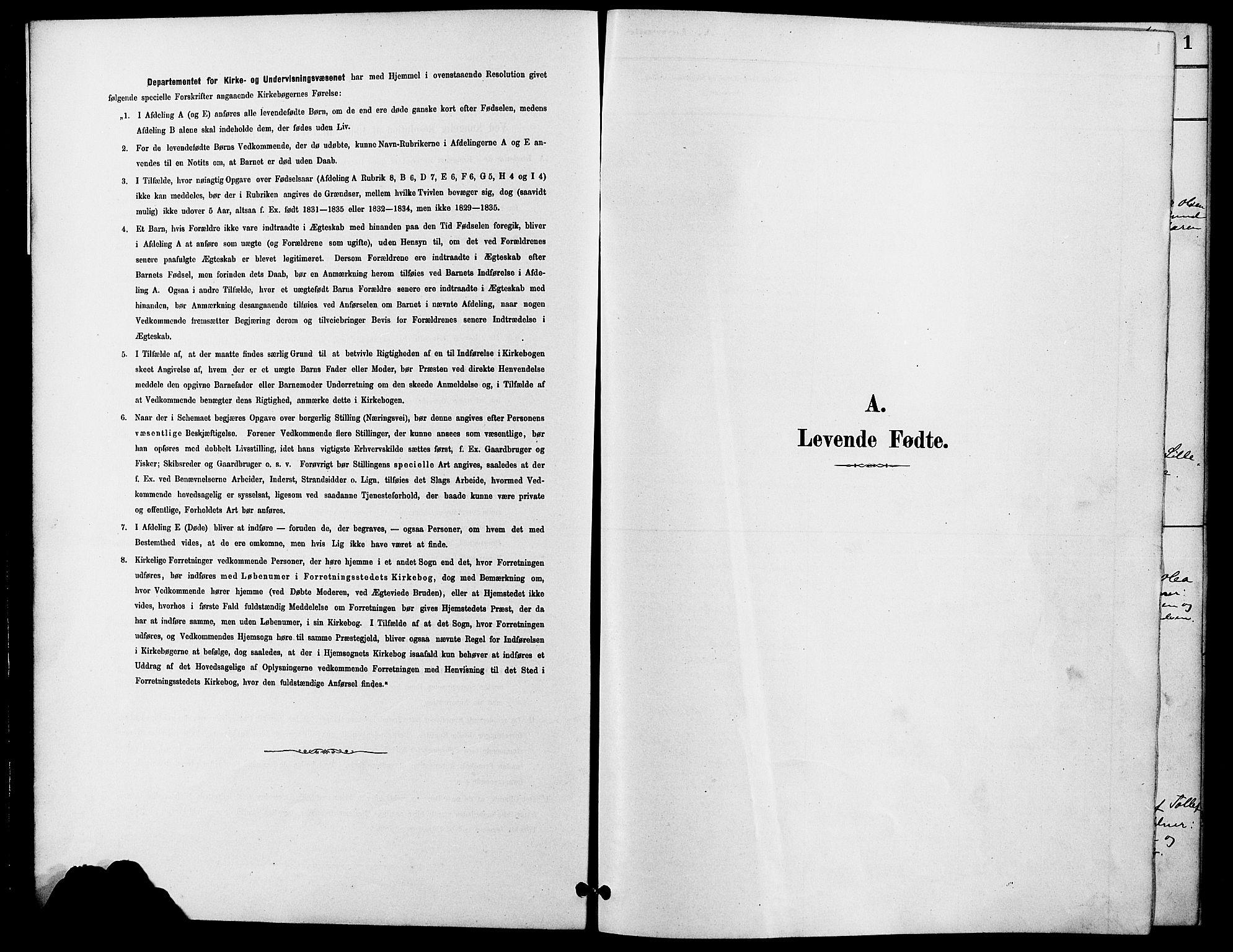 SAH, Rendalen prestekontor, H/Ha/Hab/L0003: Klokkerbok nr. 3, 1879-1904