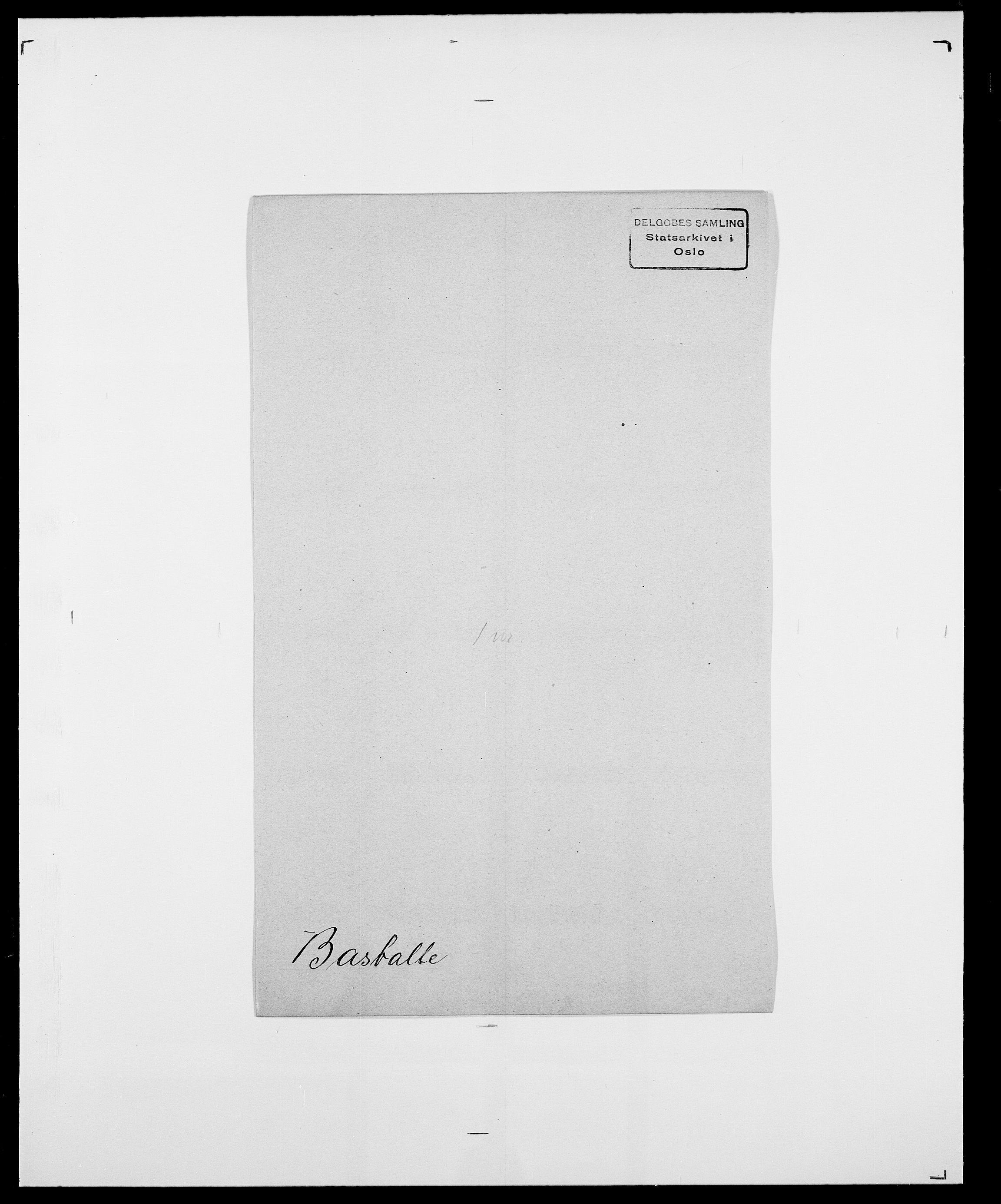 SAO, Delgobe, Charles Antoine - samling, D/Da/L0003: Barca - Bergen, s. 408
