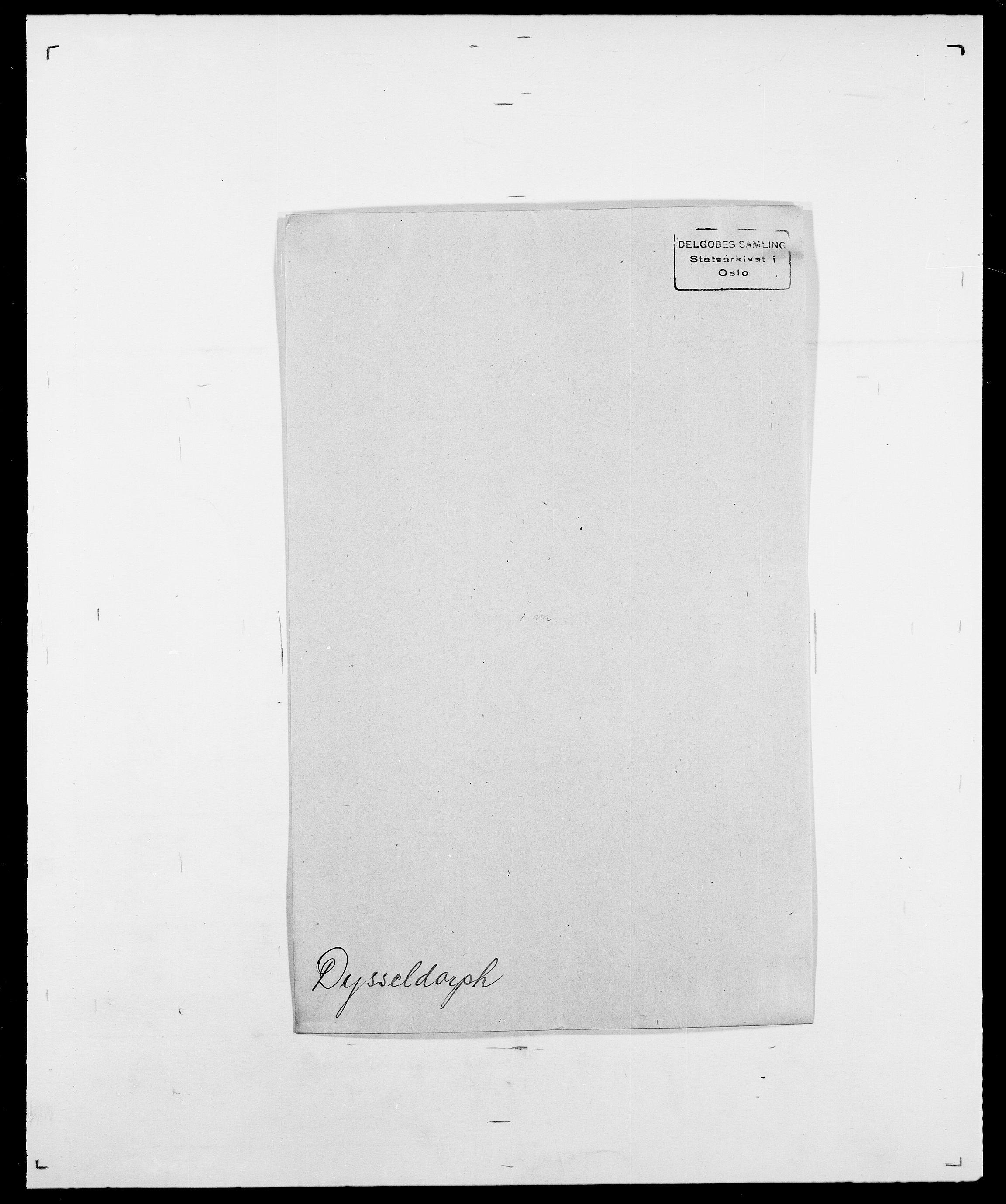 SAO, Delgobe, Charles Antoine - samling, D/Da/L0010: Dürendahl - Fagelund, s. 27