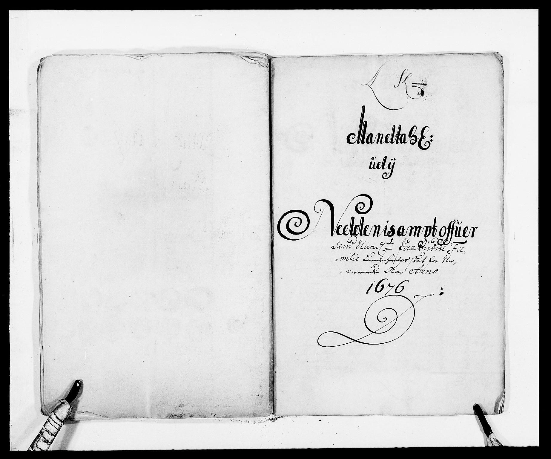 RA, Rentekammeret inntil 1814, Reviderte regnskaper, Fogderegnskap, R39/L2301: Fogderegnskap Nedenes, 1675-1676, s. 338
