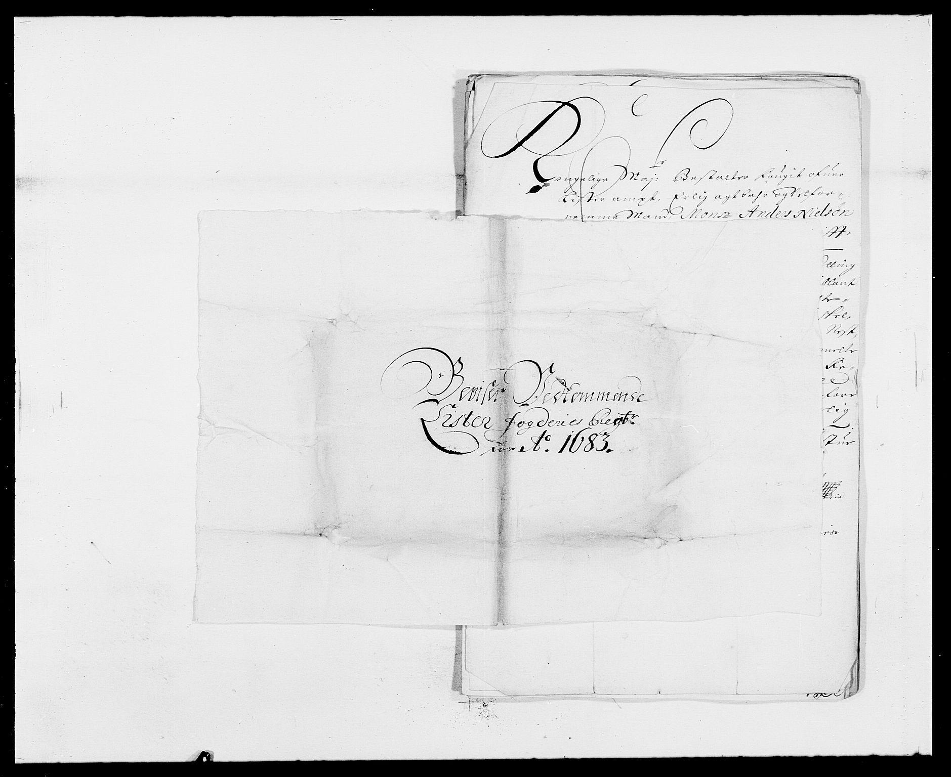 RA, Rentekammeret inntil 1814, Reviderte regnskaper, Fogderegnskap, R41/L2532: Fogderegnskap Lista, 1683, s. 171