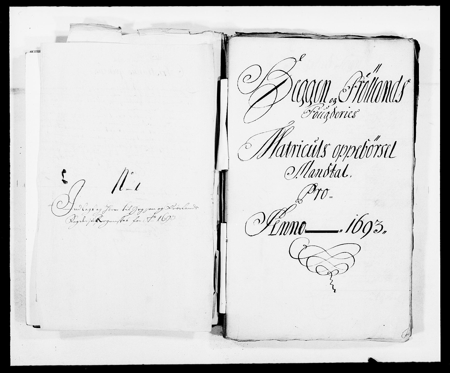 RA, Rentekammeret inntil 1814, Reviderte regnskaper, Fogderegnskap, R06/L0283: Fogderegnskap Heggen og Frøland, 1691-1693, s. 312
