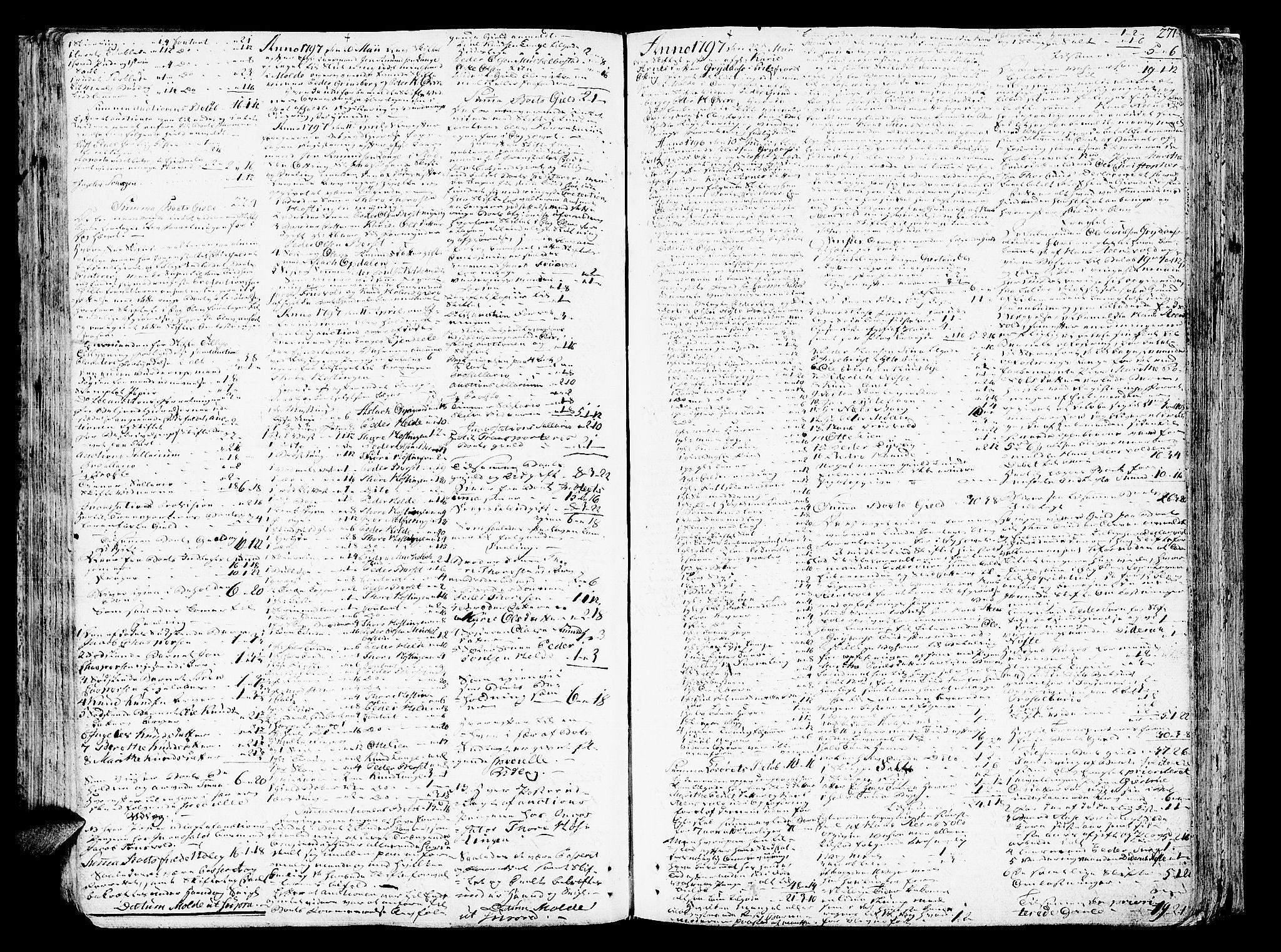 SAT, Romsdal sorenskriveri, 3/3A/L0012: Skifteprotokoll, 1789-1802, s. 270b-271a