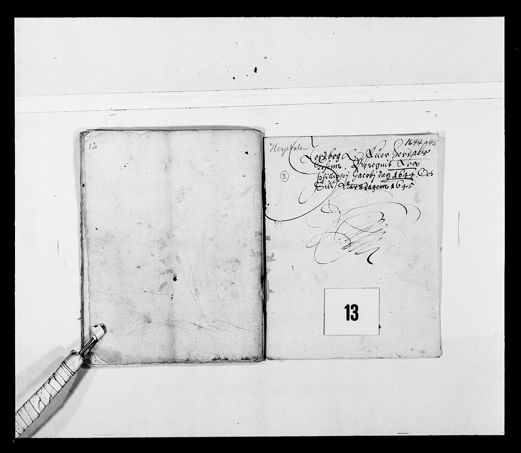 RA, Stattholderembetet 1572-1771, Ek/L0027: Jordebøker 1633-1658:, 1644-1645, s. 53