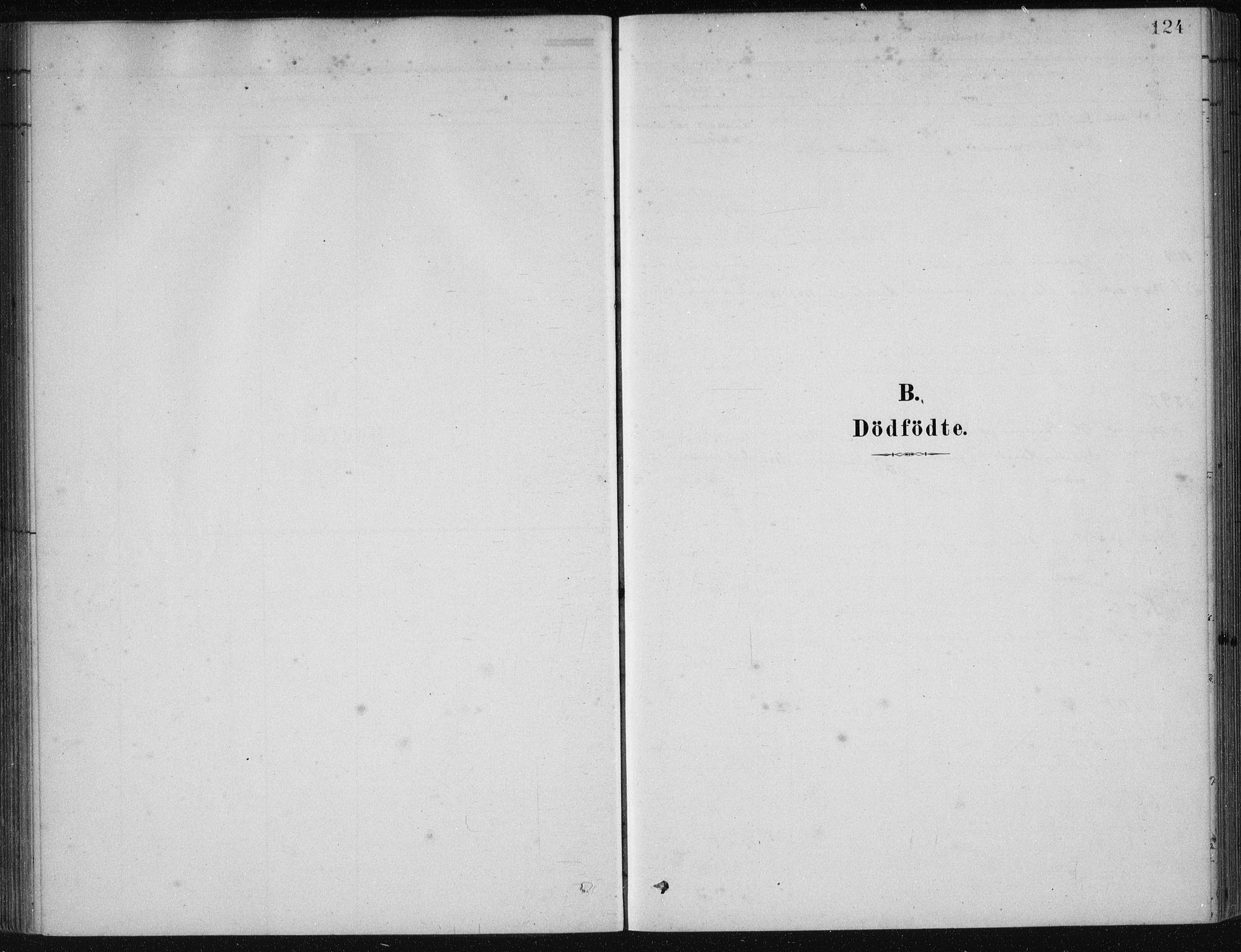 SAB, Etne Sokneprestembete, H/Haa: Ministerialbok nr. D  1, 1879-1919, s. 124