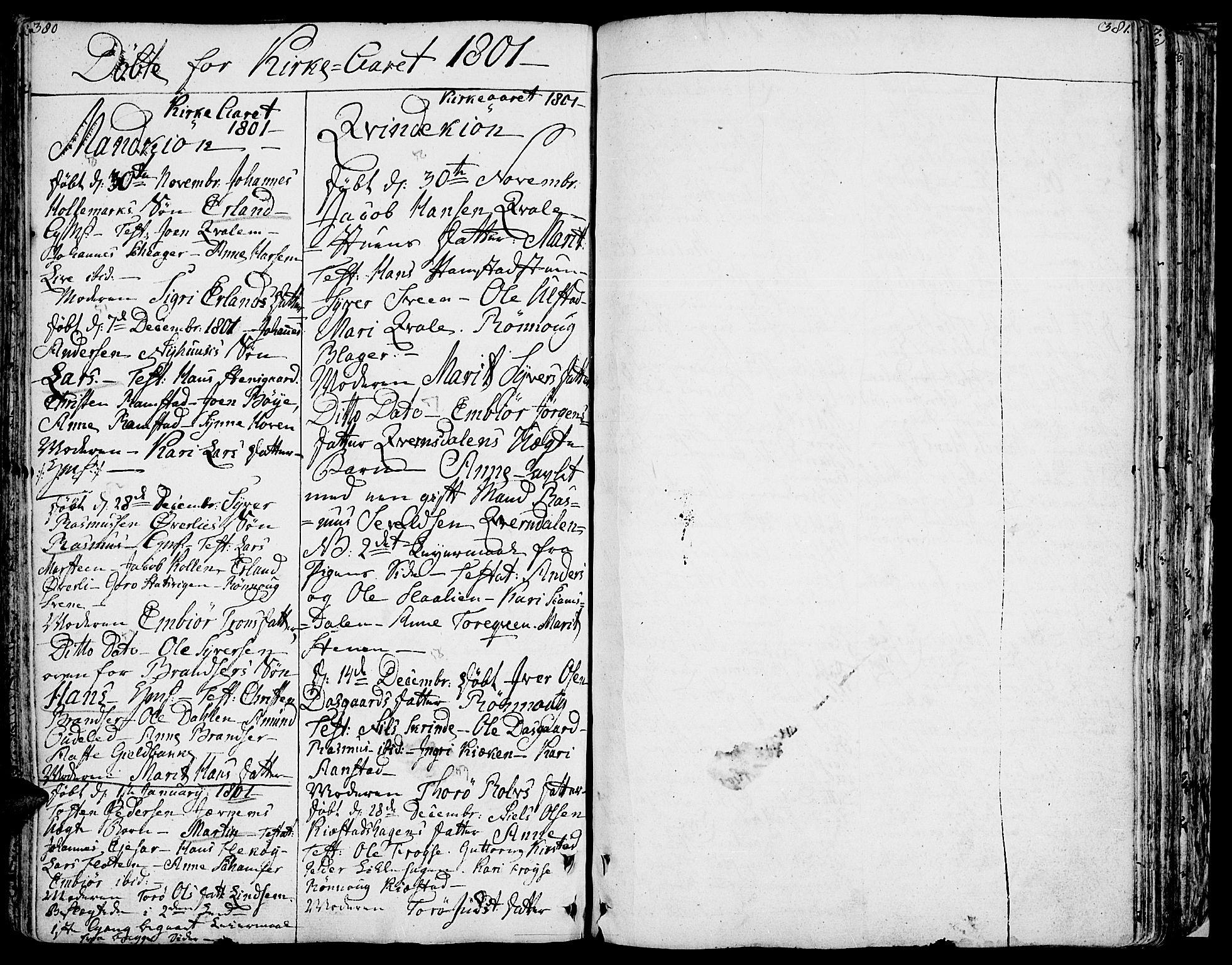 SAH, Lom prestekontor, K/L0002: Ministerialbok nr. 2, 1749-1801, s. 380-381