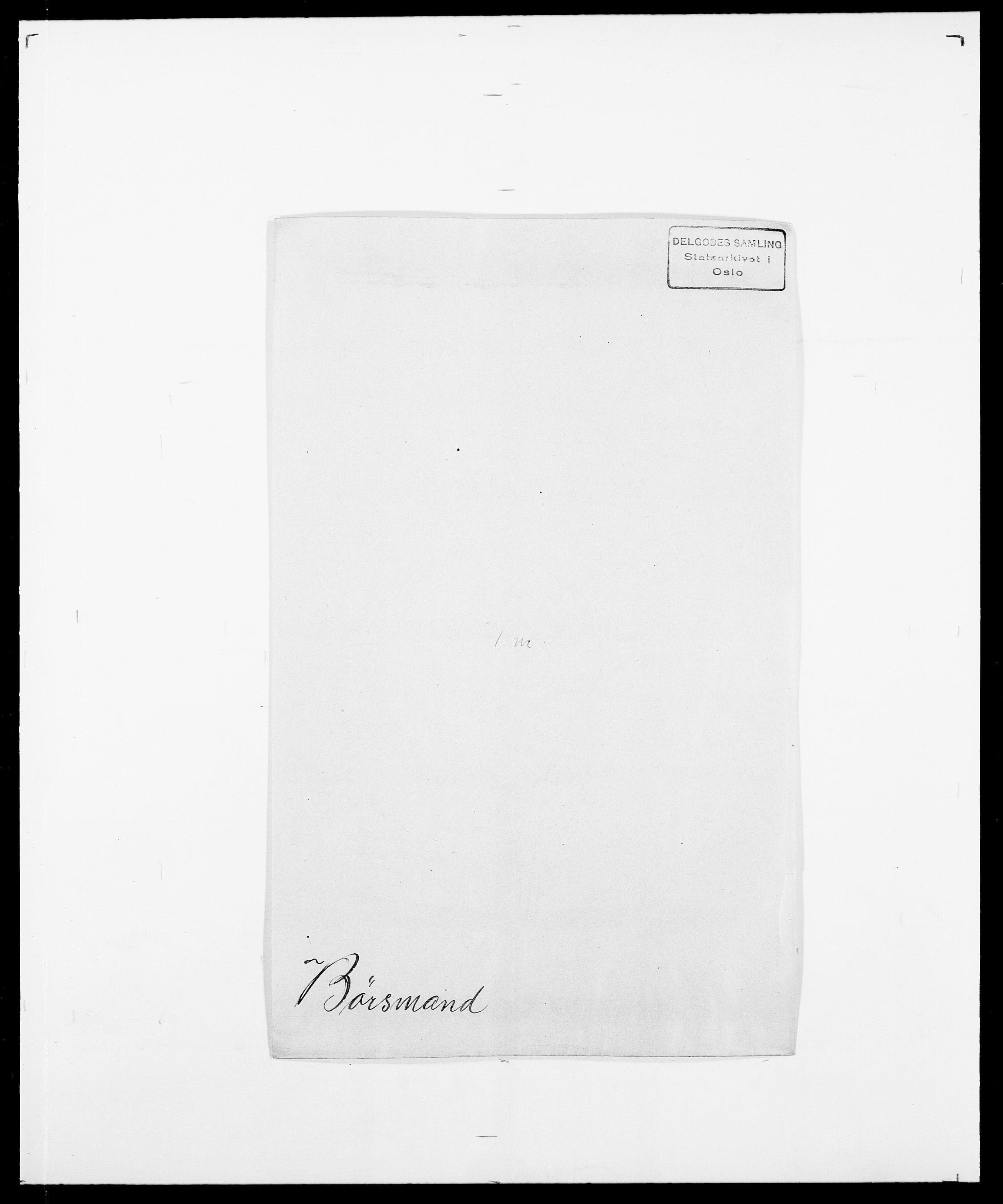 SAO, Delgobe, Charles Antoine - samling, D/Da/L0007: Buaas - Caphengst, s. 786