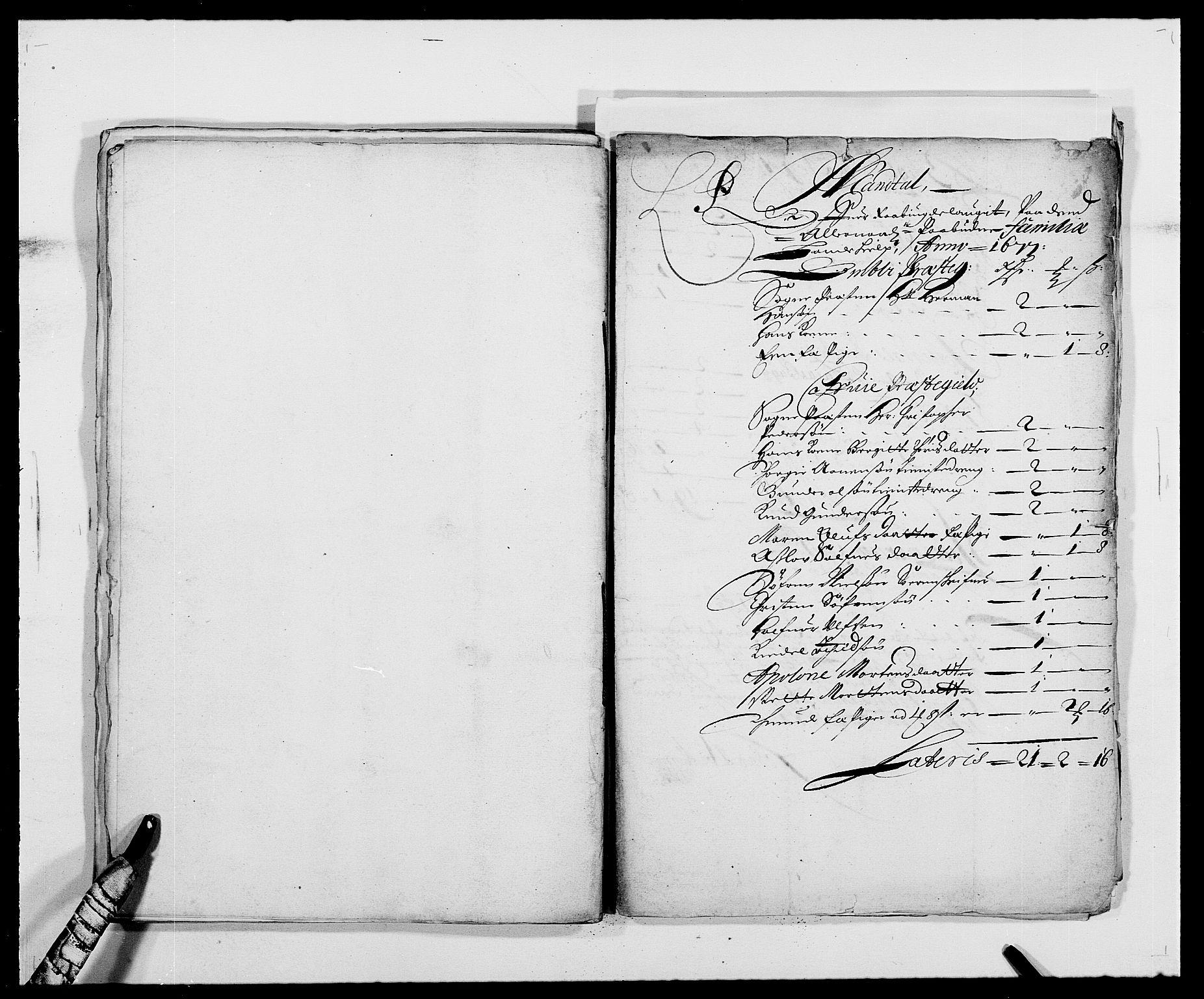 RA, Rentekammeret inntil 1814, Reviderte regnskaper, Fogderegnskap, R40/L2435: Fogderegnskap Råbyggelag, 1677-1678, s. 124