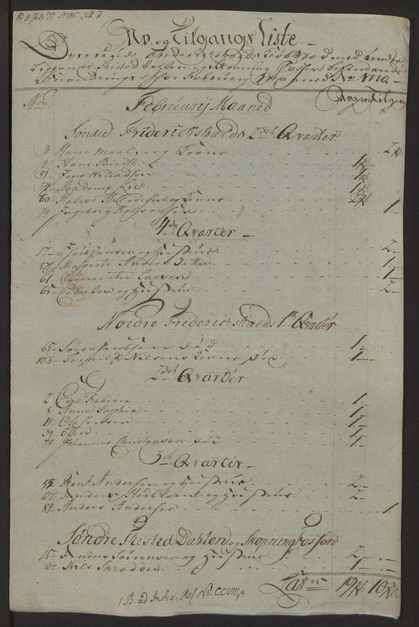 RA, Rentekammeret inntil 1814, Reviderte regnskaper, Byregnskaper, R/Ra/L0006: [A4] Kontribusjonsregnskap, 1762-1772, s. 202
