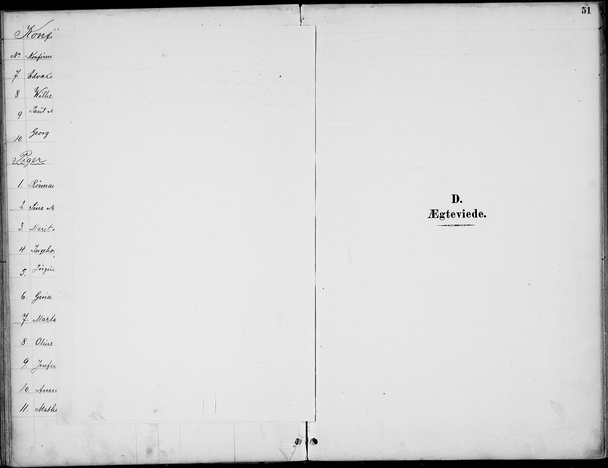 SAH, Østre Gausdal prestekontor, Ministerialbok nr. 3, 1887-1901, s. 51
