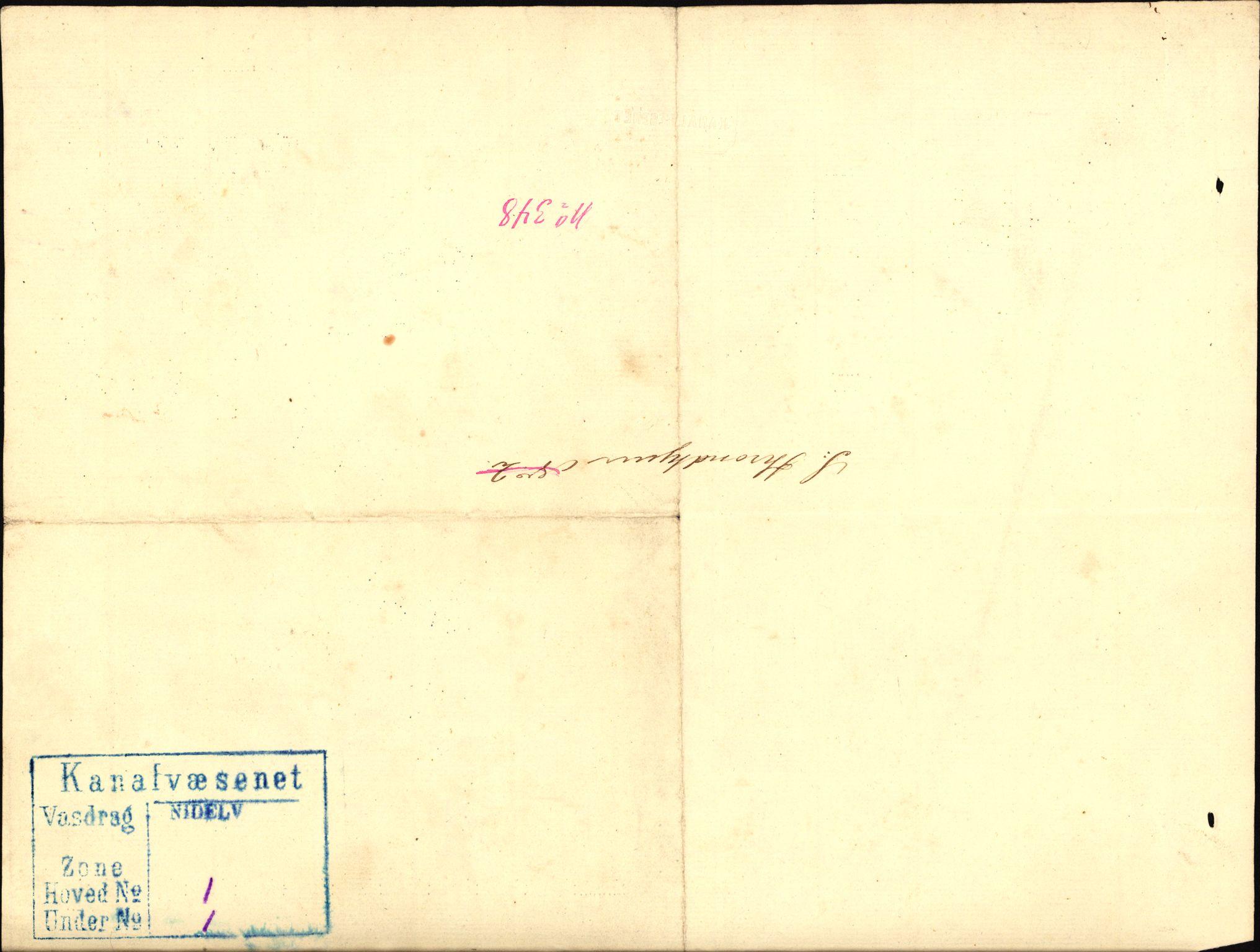 RA, Vassdragsdirektoratet/avdelingen, T/Ta/Ta59, 1850-1910, s. 1