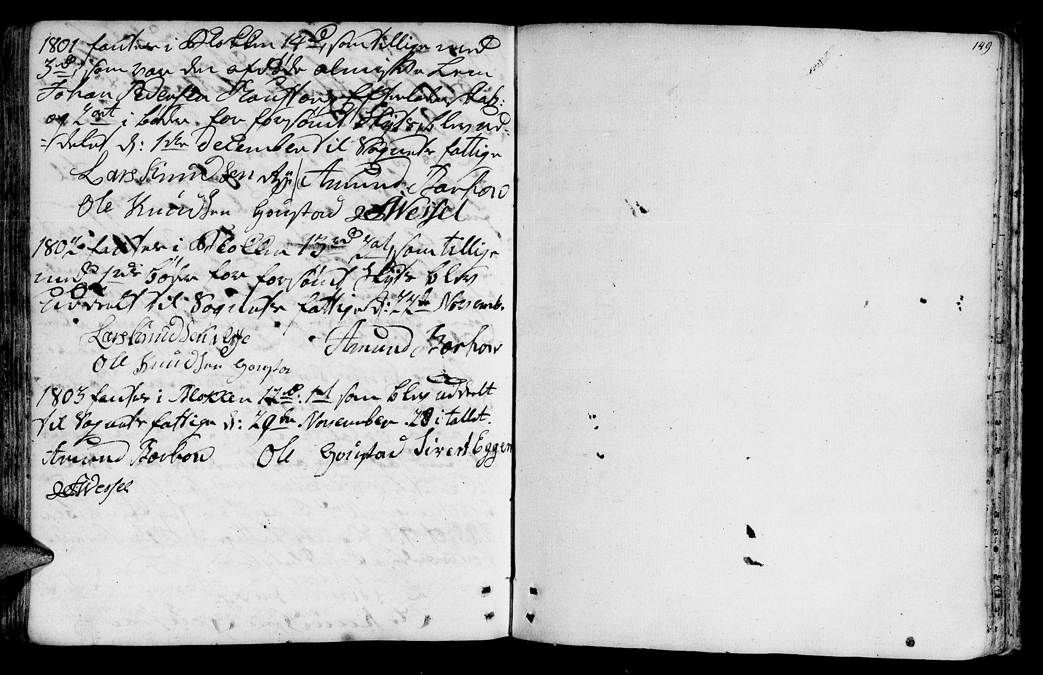 SAT, Ministerialprotokoller, klokkerbøker og fødselsregistre - Sør-Trøndelag, 612/L0370: Ministerialbok nr. 612A04, 1754-1802, s. 149