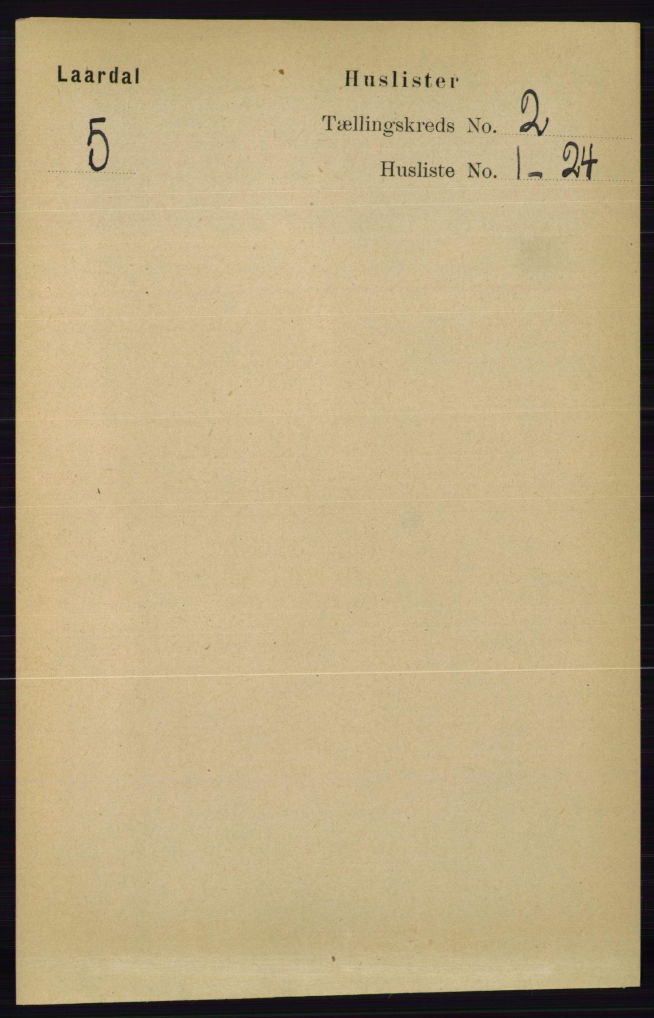RA, Folketelling 1891 for 0833 Lårdal herred, 1891, s. 570
