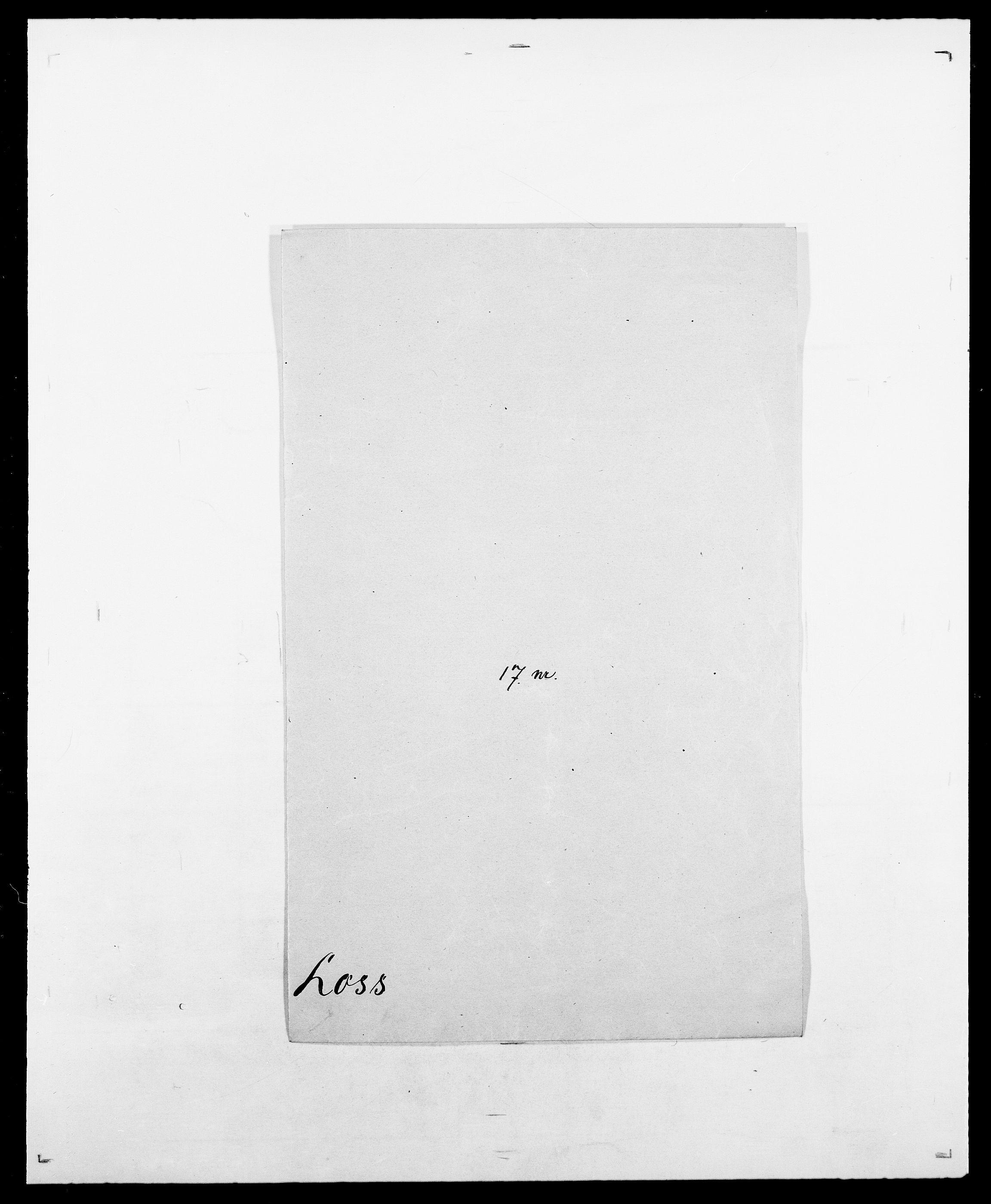 SAO, Delgobe, Charles Antoine - samling, D/Da/L0024: Lobech - Lærum, s. 295