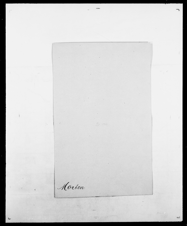 SAO, Delgobe, Charles Antoine - samling, D/Da/L0027: Morath - v. Møsting, s. 26