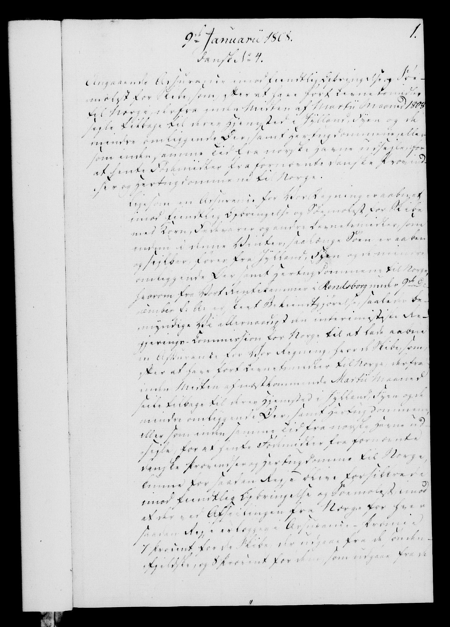 RA, Rentekammeret, Kammerkanselliet, G/Gf/Gfa/L0090: Norsk relasjons- og resolusjonsprotokoll (merket RK 52.90), 1808, s. 29