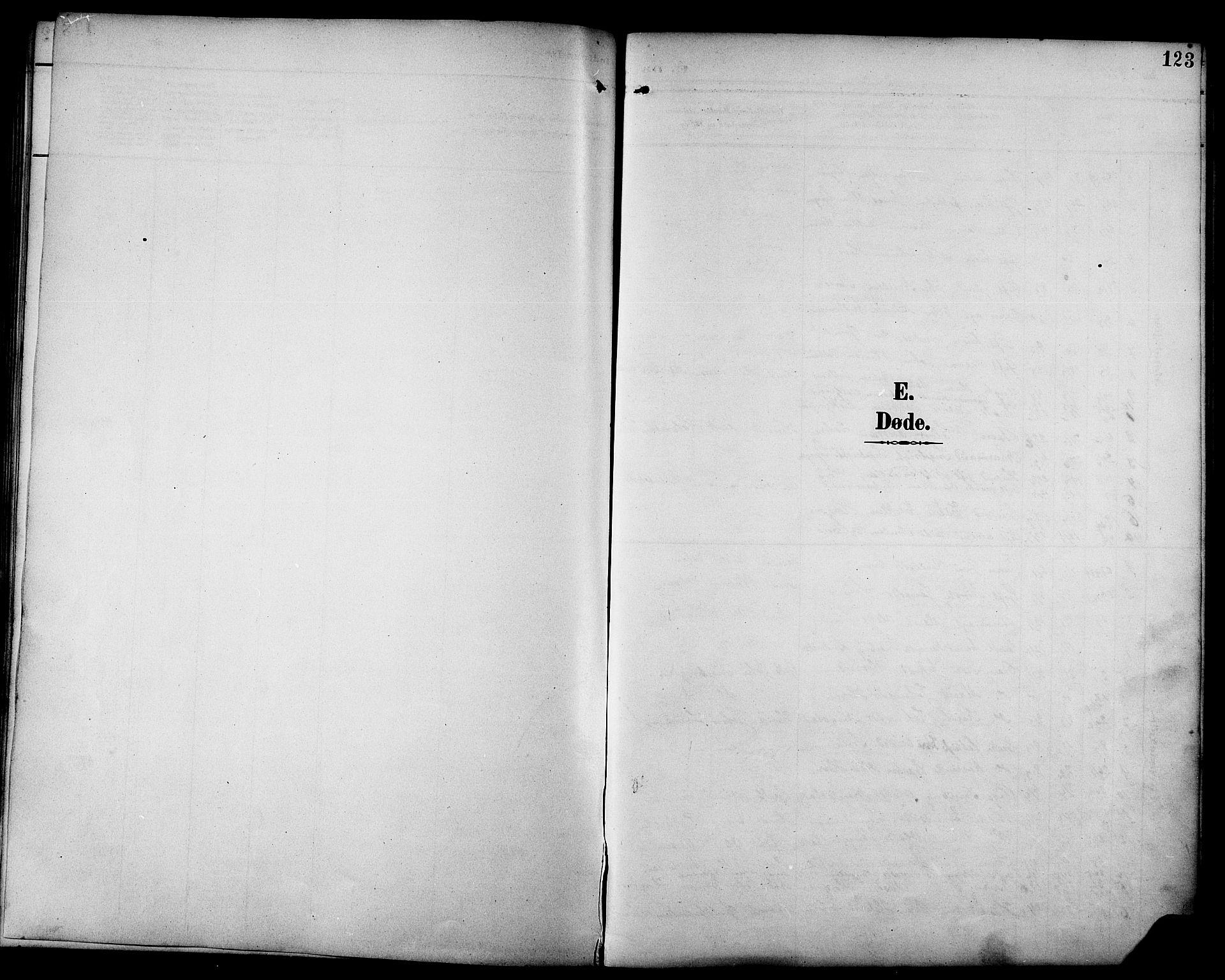 SAT, Ministerialprotokoller, klokkerbøker og fødselsregistre - Sør-Trøndelag, 692/L1111: Klokkerbok nr. 692C06, 1890-1904, s. 123