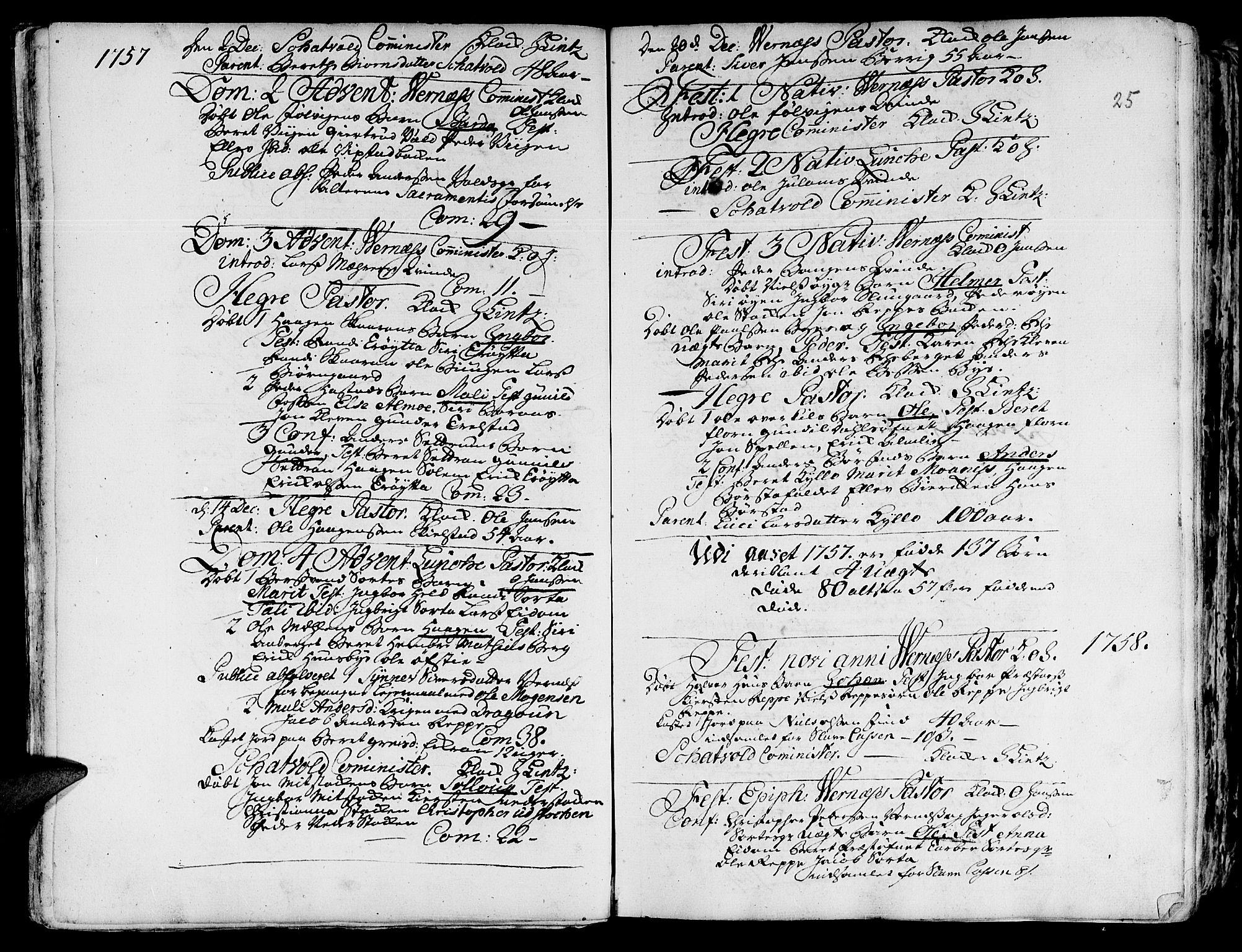 SAT, Ministerialprotokoller, klokkerbøker og fødselsregistre - Nord-Trøndelag, 709/L0057: Ministerialbok nr. 709A05, 1755-1780, s. 25