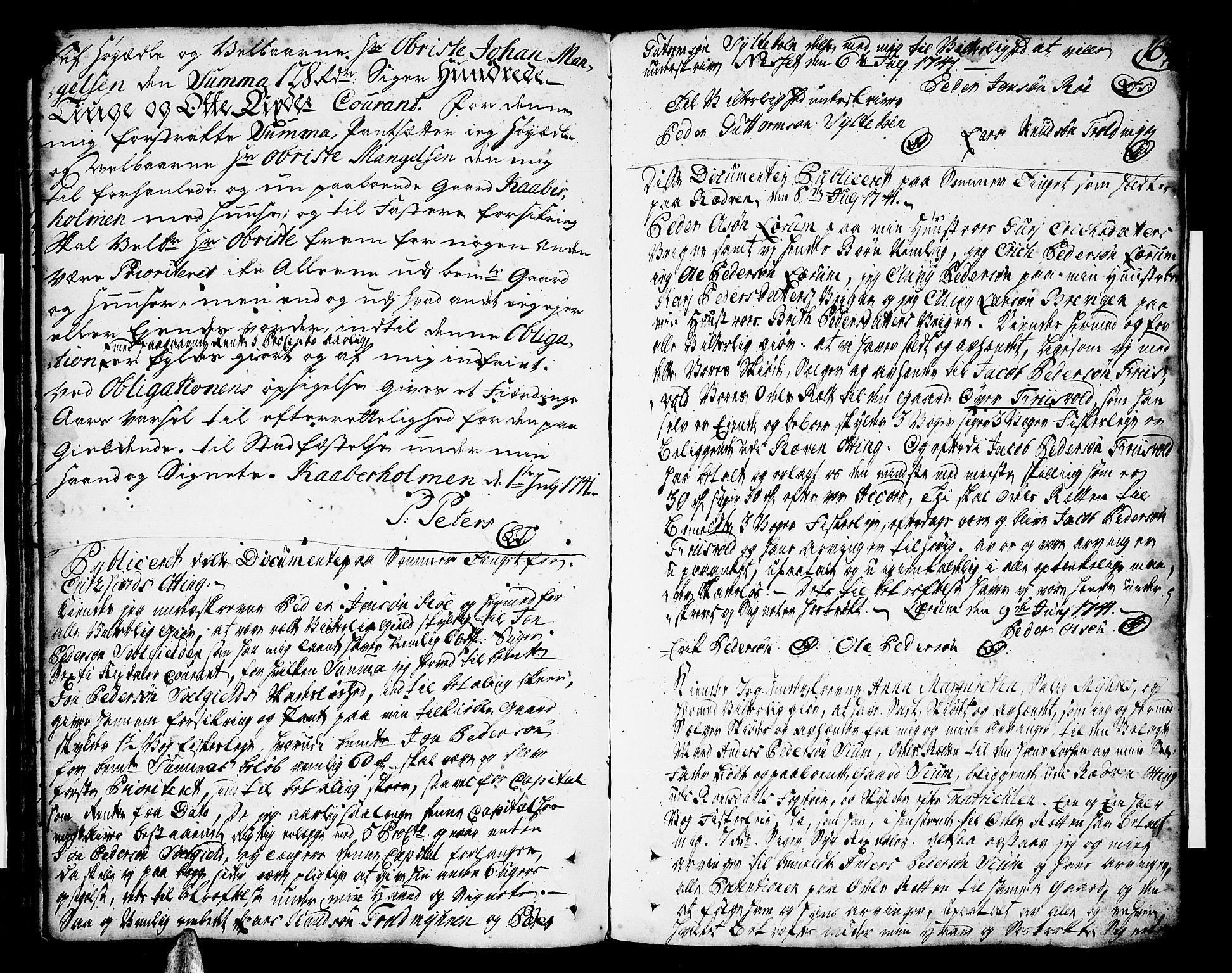SAT, Romsdal sorenskriveri, 2/2C/L0002: Pantebok nr. 2, 1731-1745, s. 167