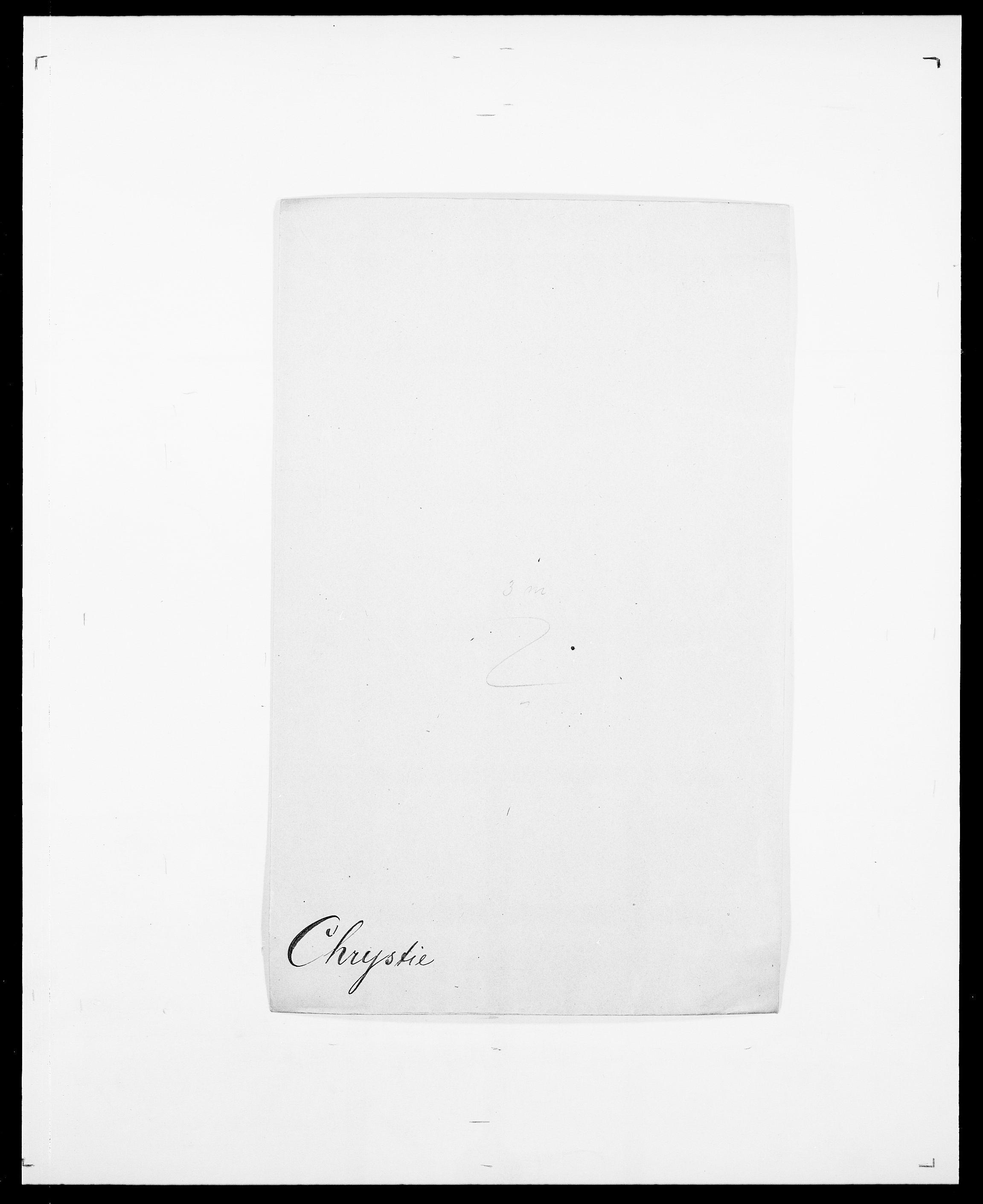 SAO, Delgobe, Charles Antoine - samling, D/Da/L0008: Capjon - Dagenbolt, s. 295