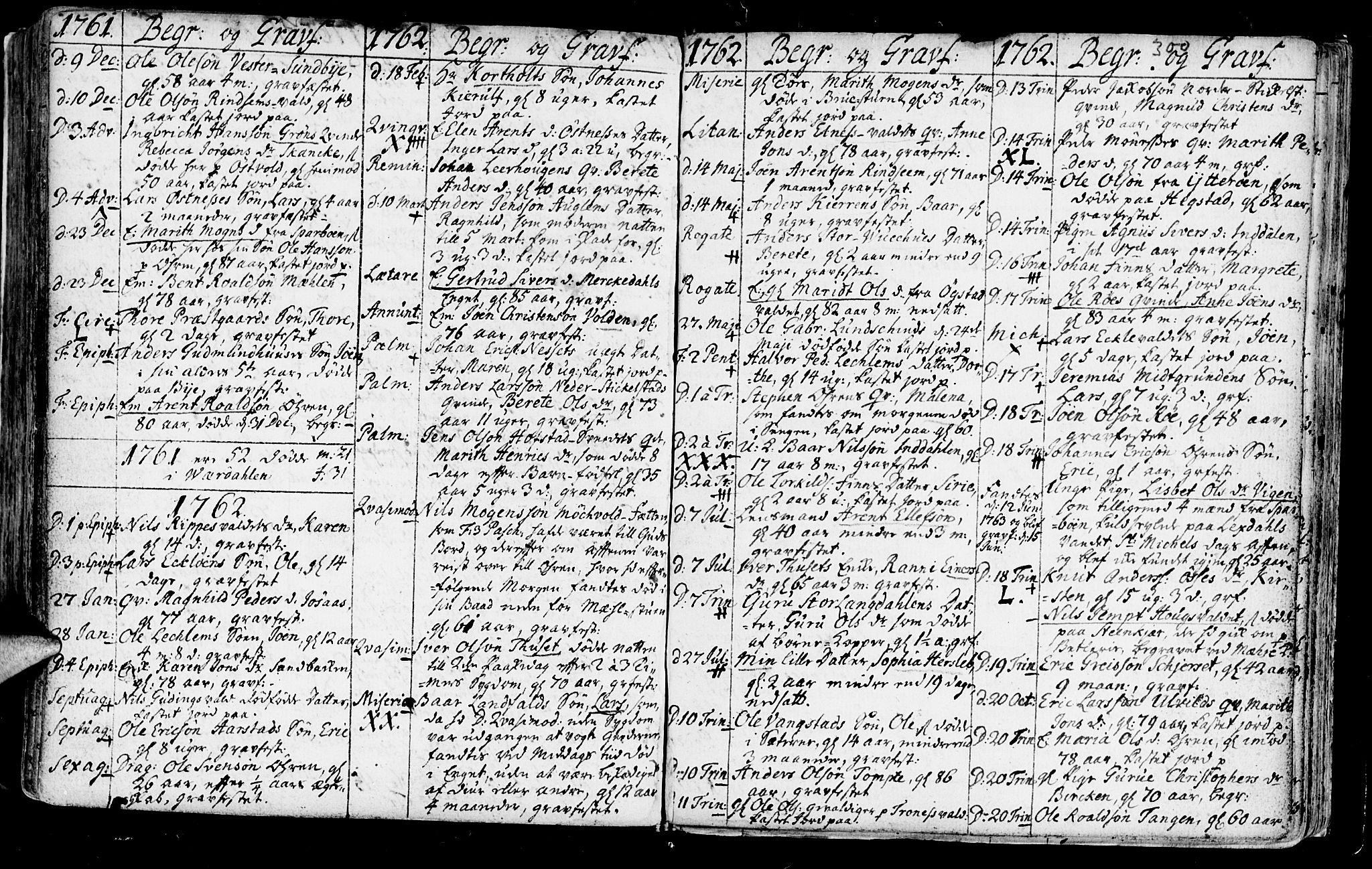 SAT, Ministerialprotokoller, klokkerbøker og fødselsregistre - Nord-Trøndelag, 723/L0231: Ministerialbok nr. 723A02, 1748-1780, s. 300