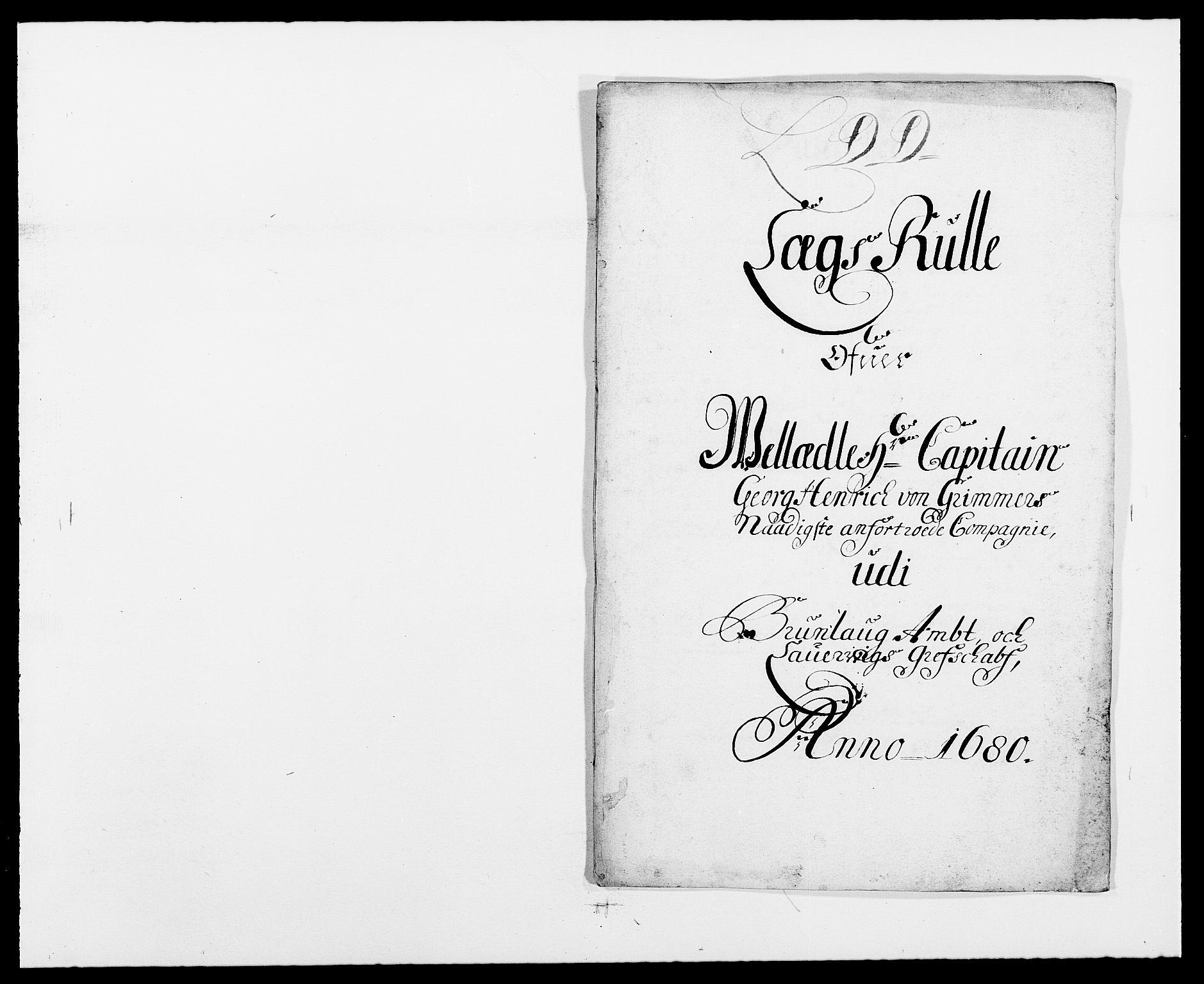 RA, Rentekammeret inntil 1814, Reviderte regnskaper, Fogderegnskap, R33/L1968: Fogderegnskap Larvik grevskap, 1675-1687, s. 411