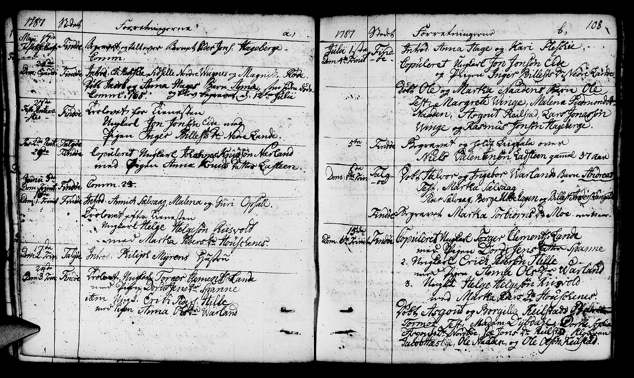 SAST, Finnøy sokneprestkontor, H/Ha/Haa/L0005: Ministerialbok nr. A 5, 1773-1816, s. 108