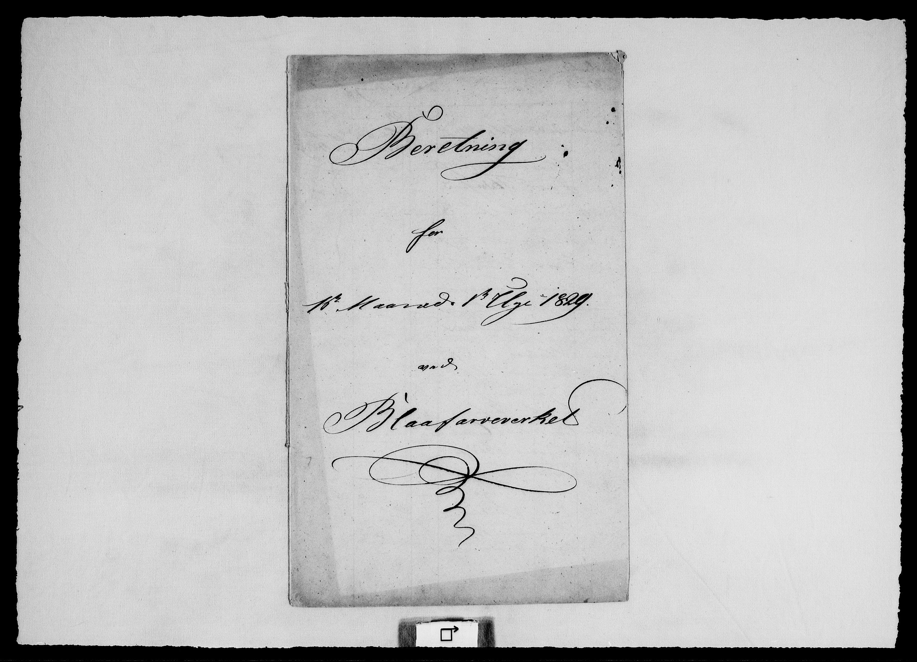 RA, Modums Blaafarveværk, G/Ge/L0320, 1829-1831, s. 2