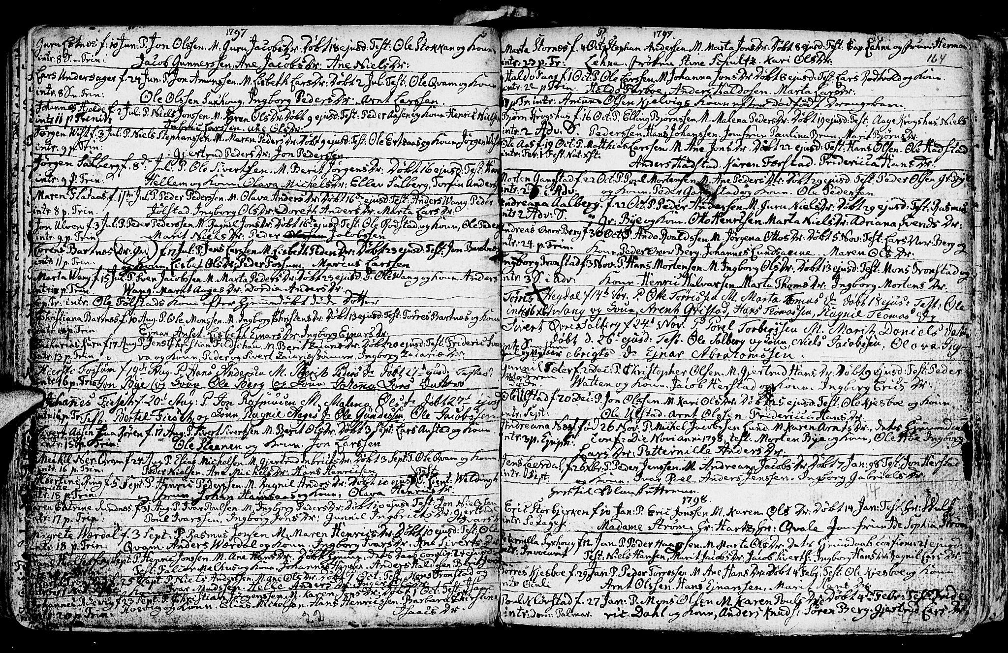SAT, Ministerialprotokoller, klokkerbøker og fødselsregistre - Nord-Trøndelag, 730/L0273: Ministerialbok nr. 730A02, 1762-1802, s. 164