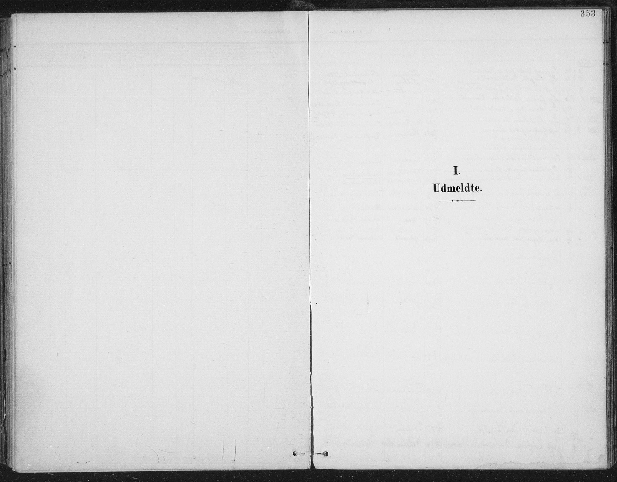 SAT, Ministerialprotokoller, klokkerbøker og fødselsregistre - Nord-Trøndelag, 723/L0246: Ministerialbok nr. 723A15, 1900-1917, s. 353