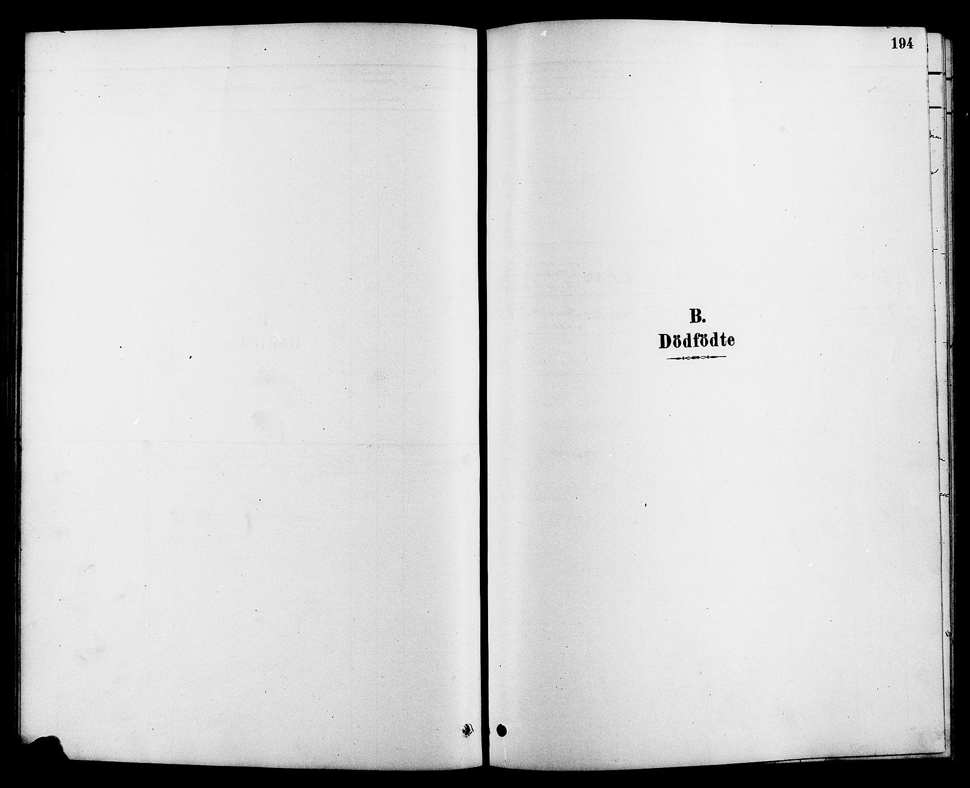 SAKO, Heddal kirkebøker, G/Ga/L0002: Klokkerbok nr. I 2, 1879-1908, s. 194