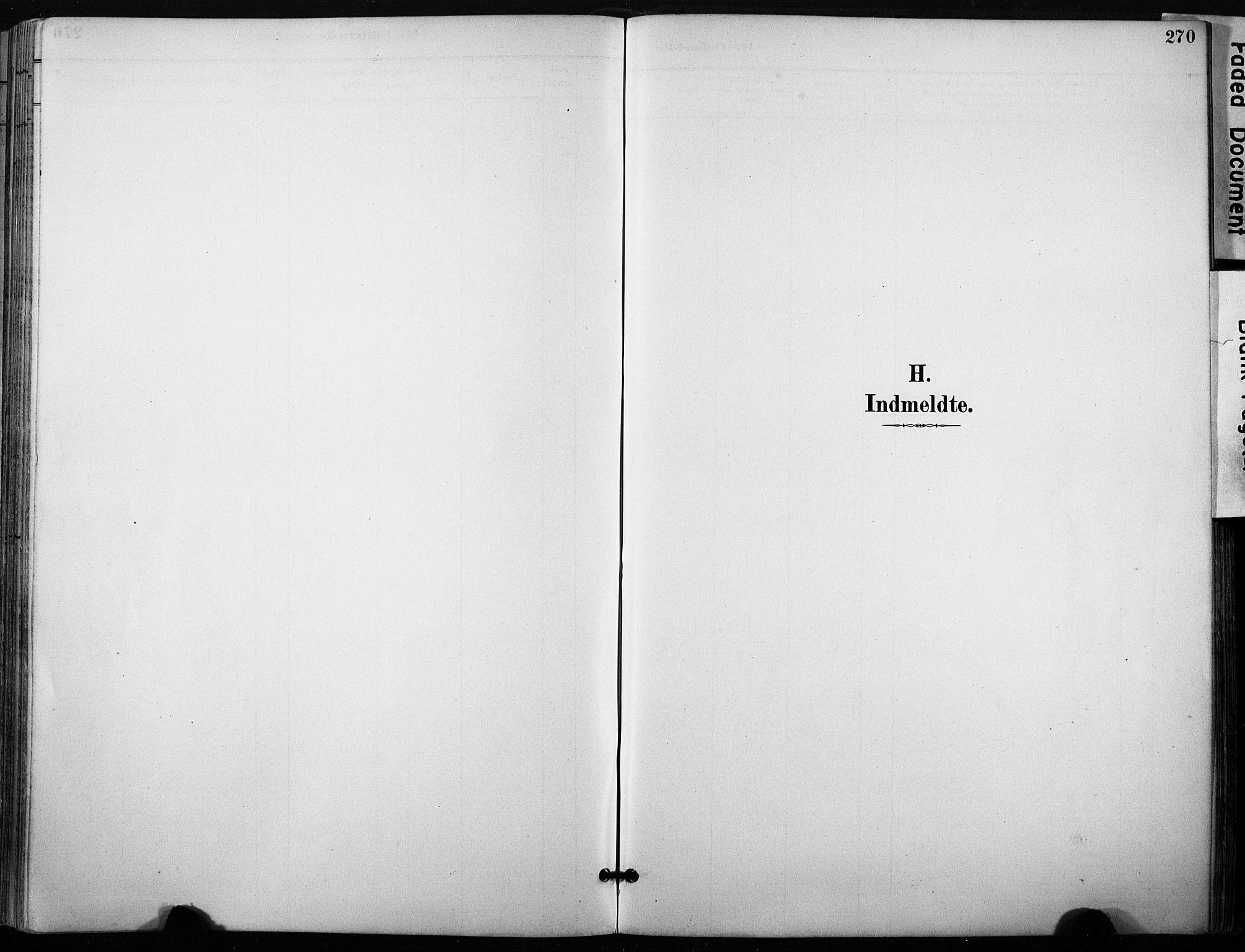 SAT, Ministerialprotokoller, klokkerbøker og fødselsregistre - Sør-Trøndelag, 640/L0579: Ministerialbok nr. 640A04, 1889-1902, s. 270