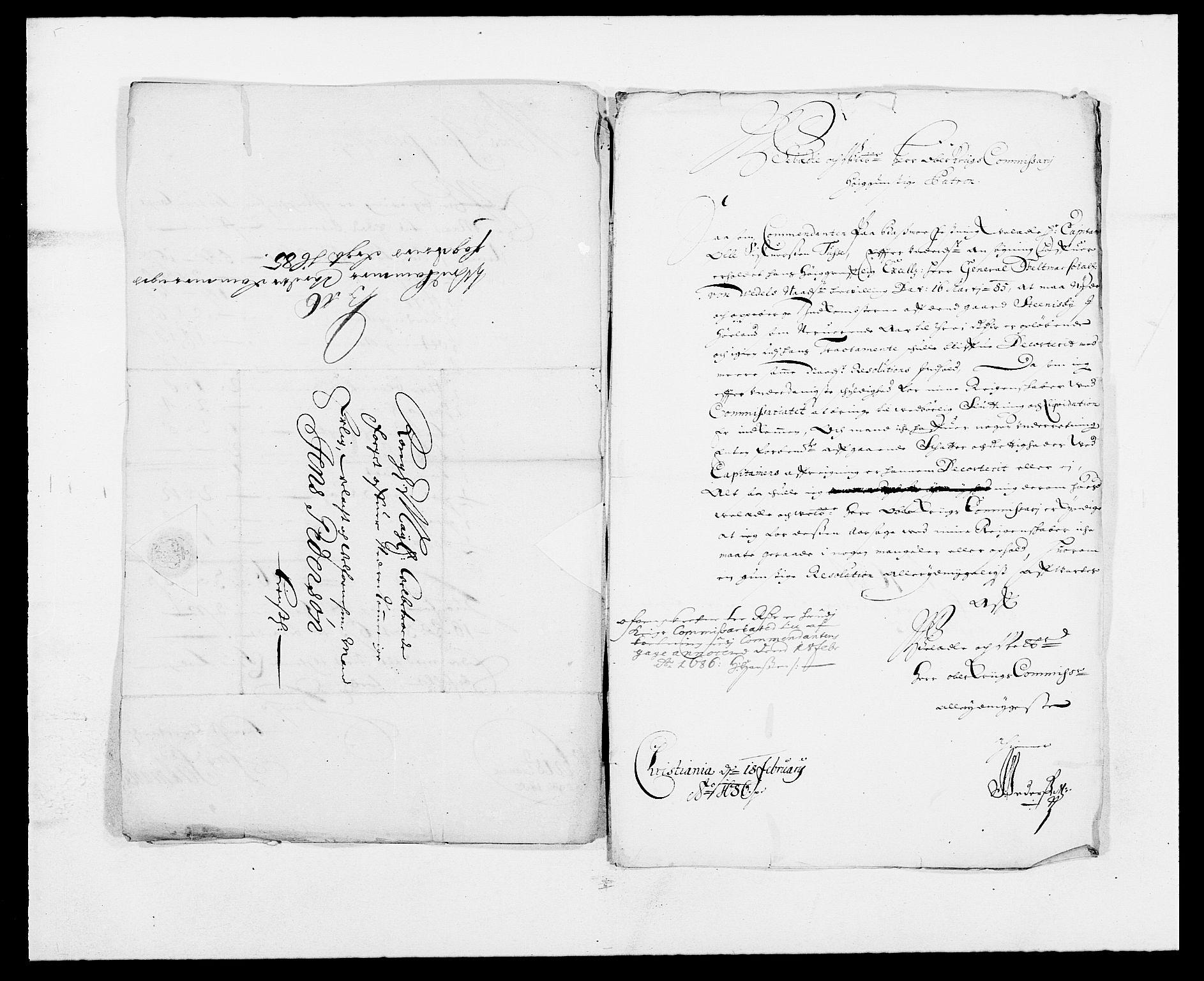RA, Rentekammeret inntil 1814, Reviderte regnskaper, Fogderegnskap, R11/L0571: Fogderegnskap Nedre Romerike, 1683-1685, s. 608