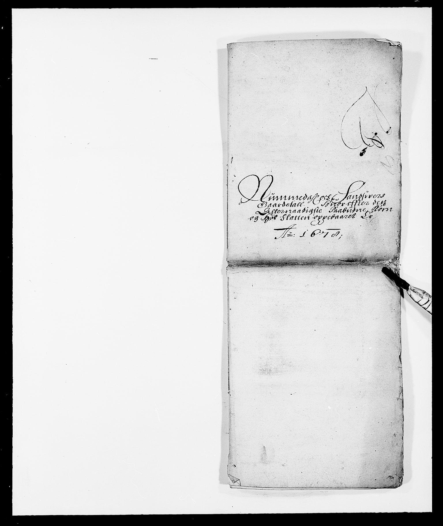 RA, Rentekammeret inntil 1814, Reviderte regnskaper, Fogderegnskap, R24/L1569: Fogderegnskap Numedal og Sandsvær, 1679-1686, s. 4