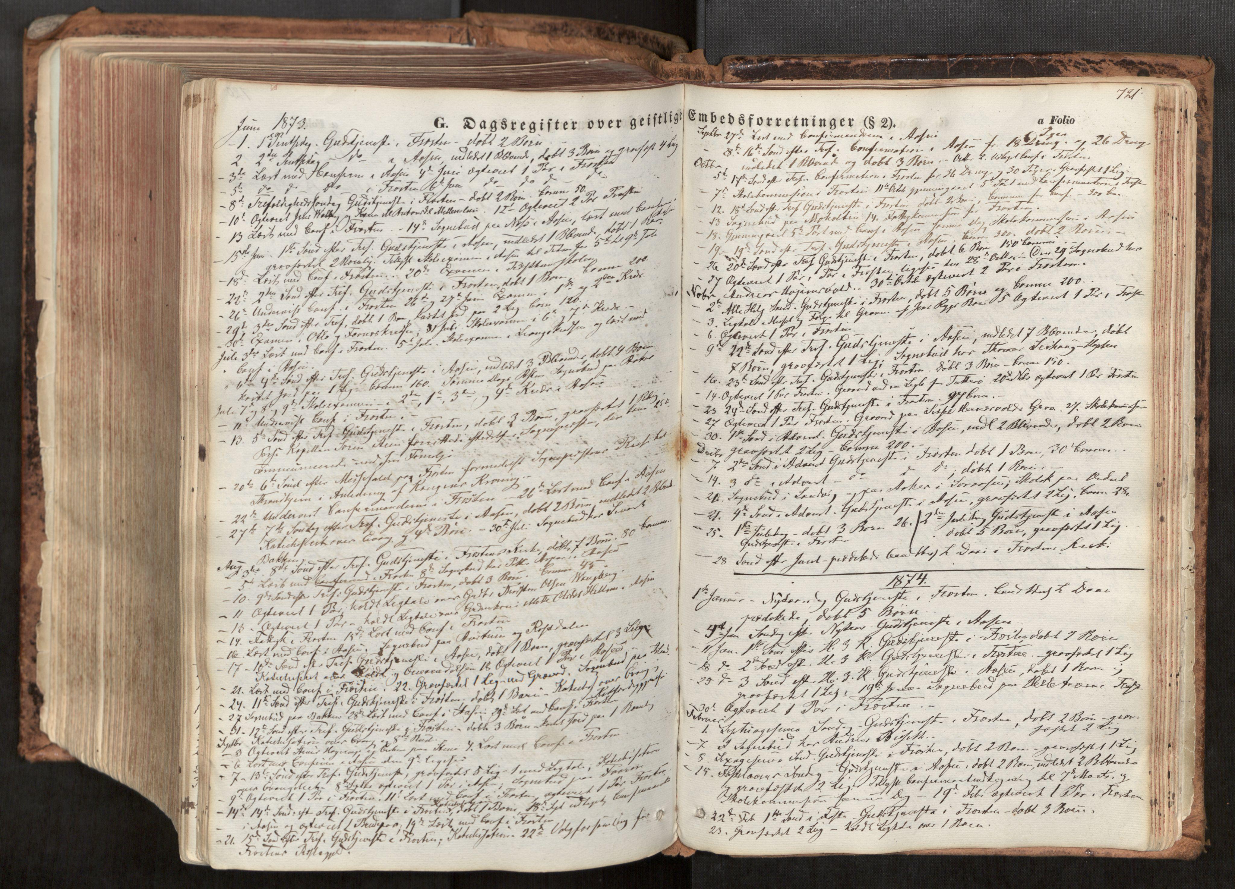 SAT, Ministerialprotokoller, klokkerbøker og fødselsregistre - Nord-Trøndelag, 713/L0116: Ministerialbok nr. 713A07, 1850-1877, s. 721