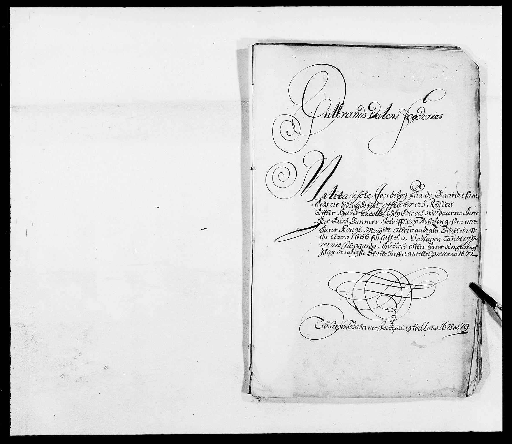 RA, Rentekammeret inntil 1814, Reviderte regnskaper, Fogderegnskap, R17/L1153: Fogderegnskap Gudbrandsdal, 1678-1679, s. 393