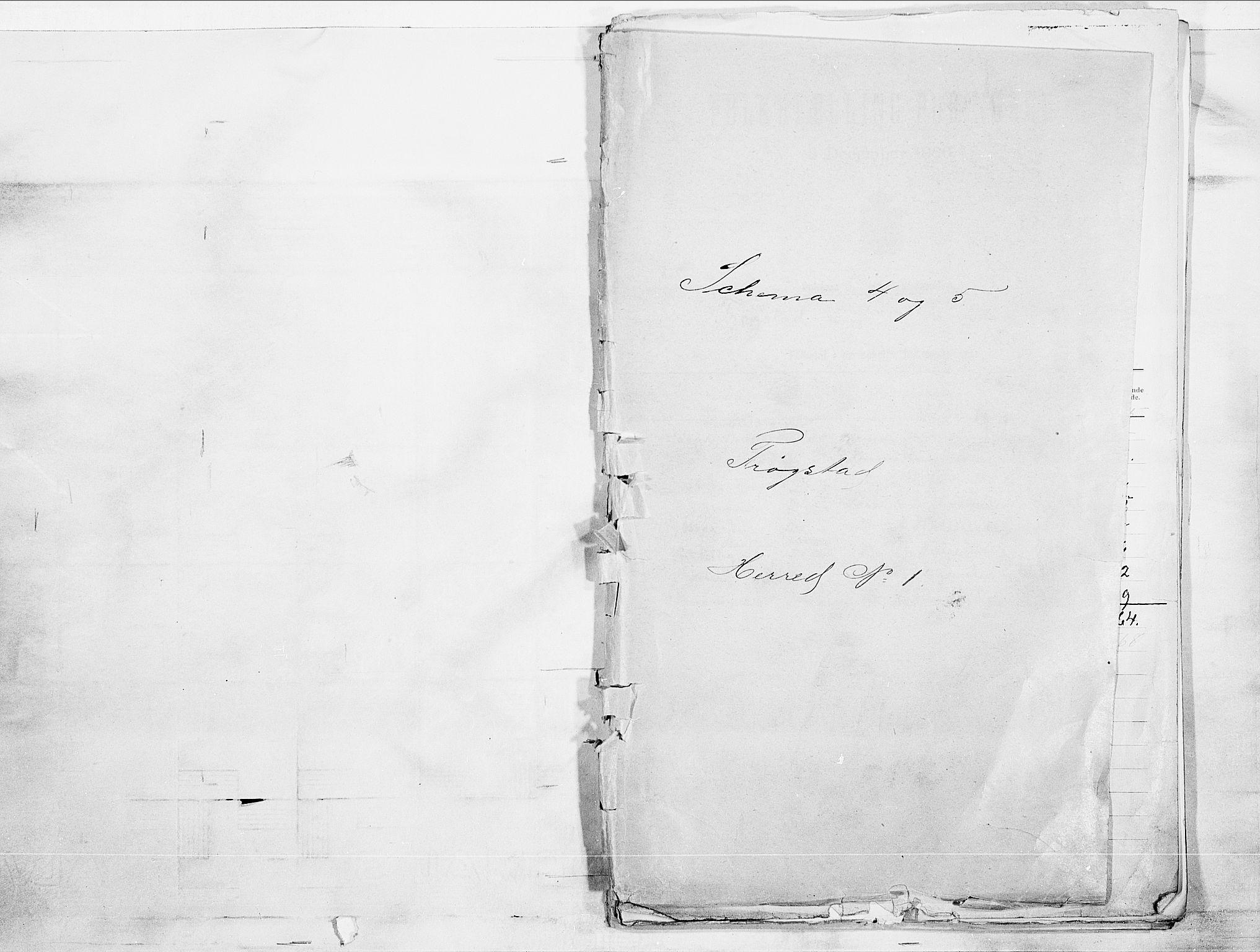 SAO, Folketelling 1900 for 0122 Trøgstad herred, 1900, s. 1