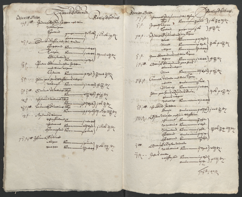 RA, Stattholderembetet 1572-1771, Ek/L0010: Jordebøker til utlikning av rosstjeneste 1624-1626:, 1624-1626, s. 126